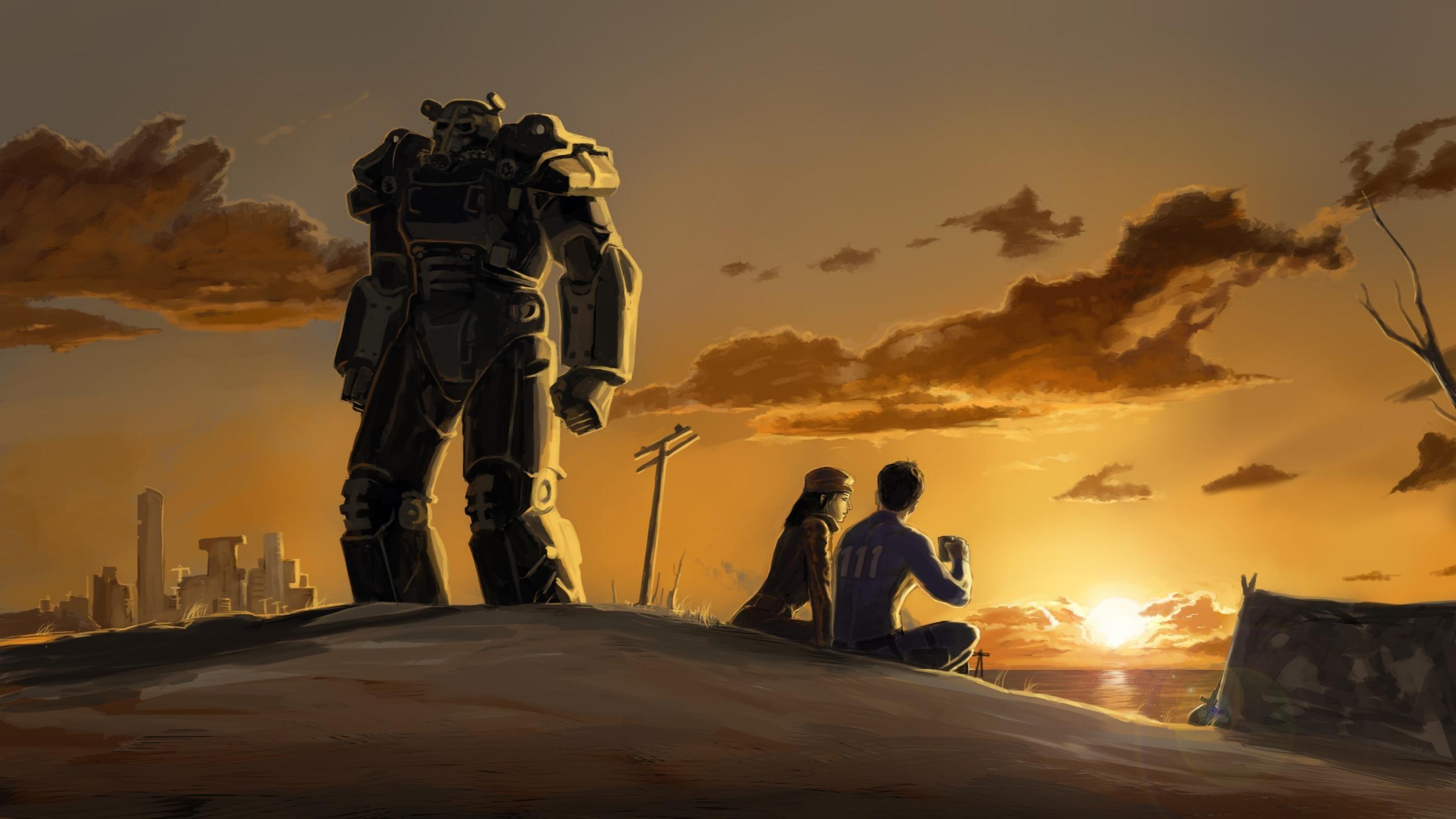 Fallout 4 Wallpapers 2560x1440 Desktop Backgrounds