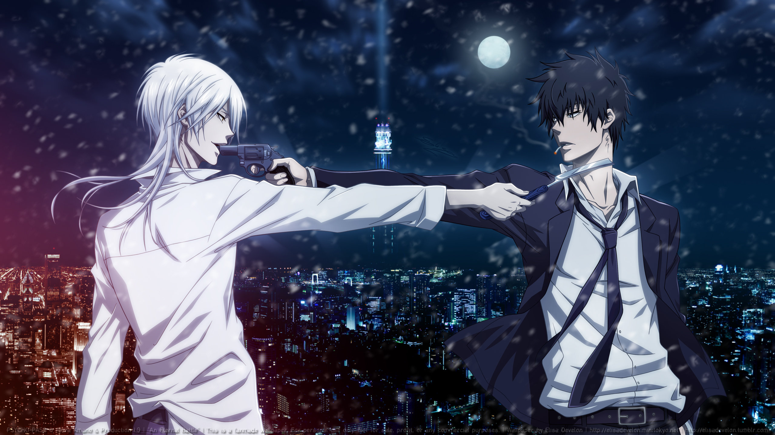 Free download Psycho-Pass wallpaper ID:451814 hd 2560x1440 for PC
