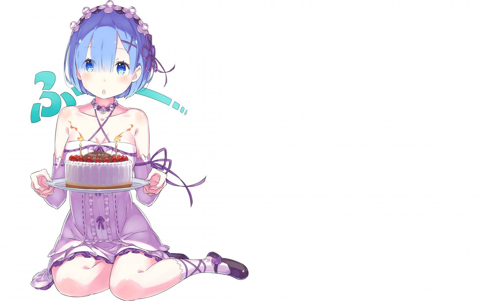 High resolution Rem (Re:ZERO) hd 1680x1050 wallpaper ID:159366 for PC