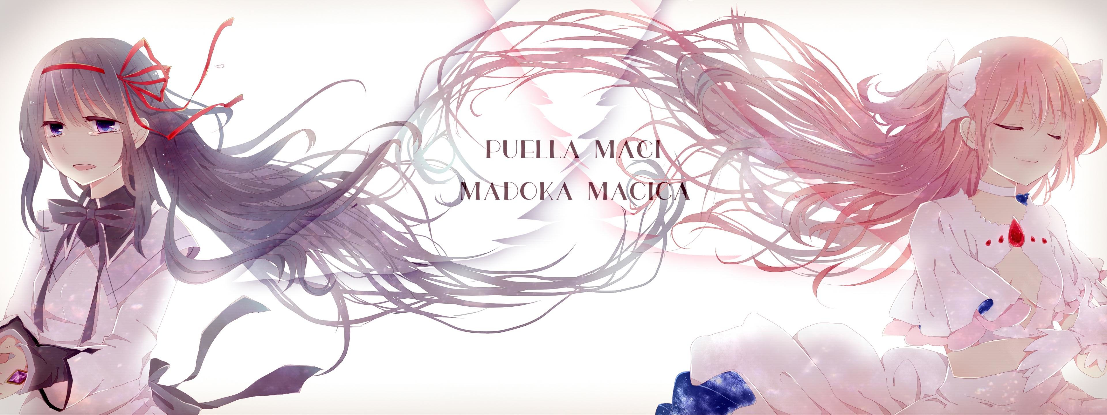 Best Puella Magi Madoka Magica background ID:31972 for High Resolution dual monitor 3840x1440 PC