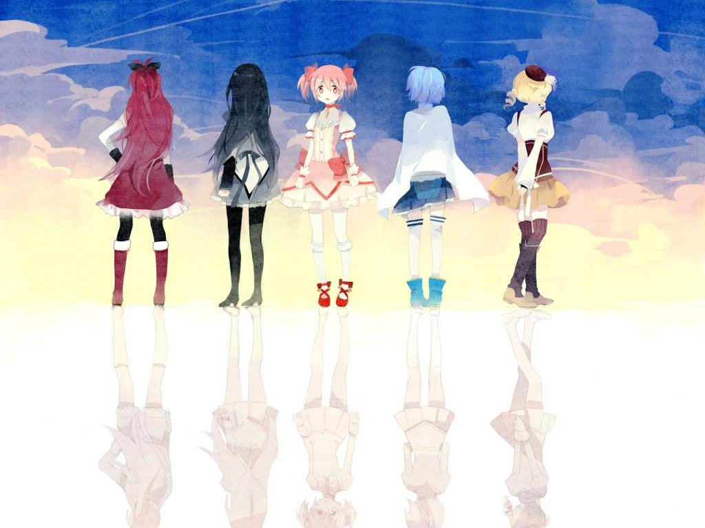 High resolution Puella Magi Madoka Magica hd 1024x768 background ID:31775 for desktop