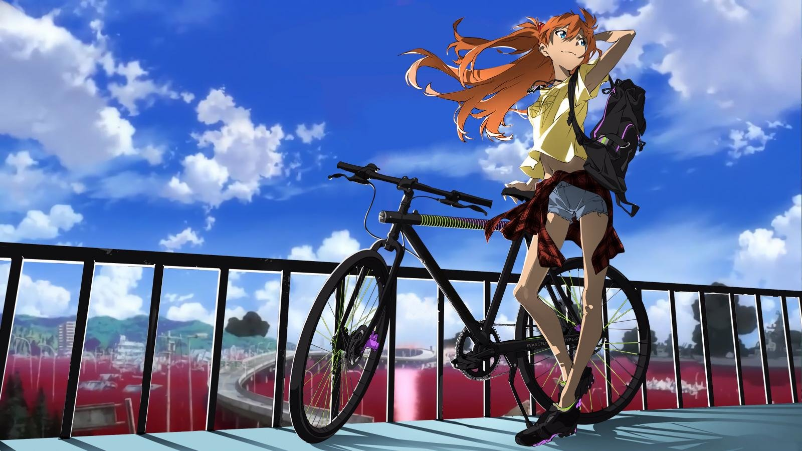 Free Asuka Langley Sohryu high quality background ID:215072 for hd 1600x900 computer