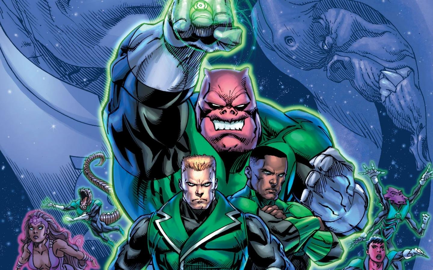 Free Green Lantern Corps high quality background ID:277631 for hd 1440x900 PC