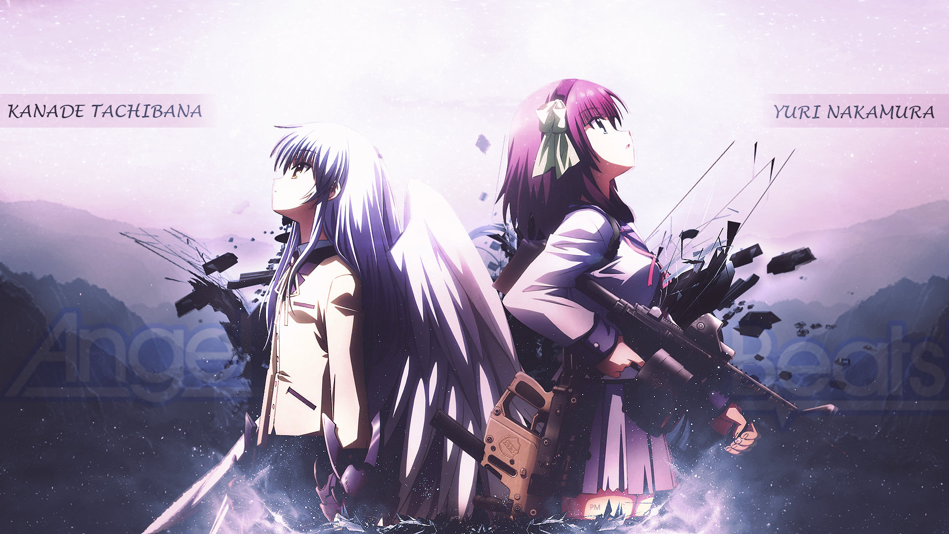 Free Angel Beats High Quality Wallpaper Id235288 For 1080p Pc