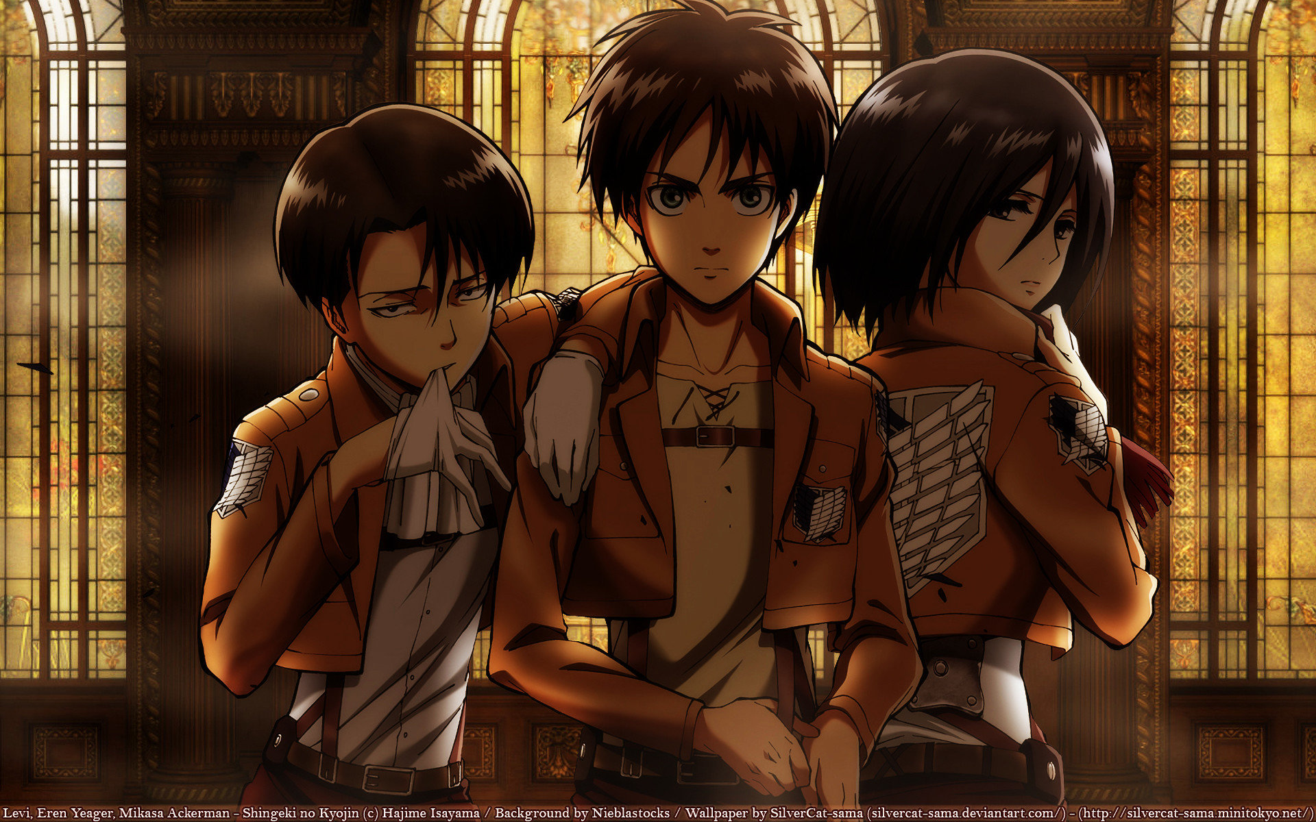Download Hd 1920x1200 Attack On Titan Computer Background Id 207001 For Free