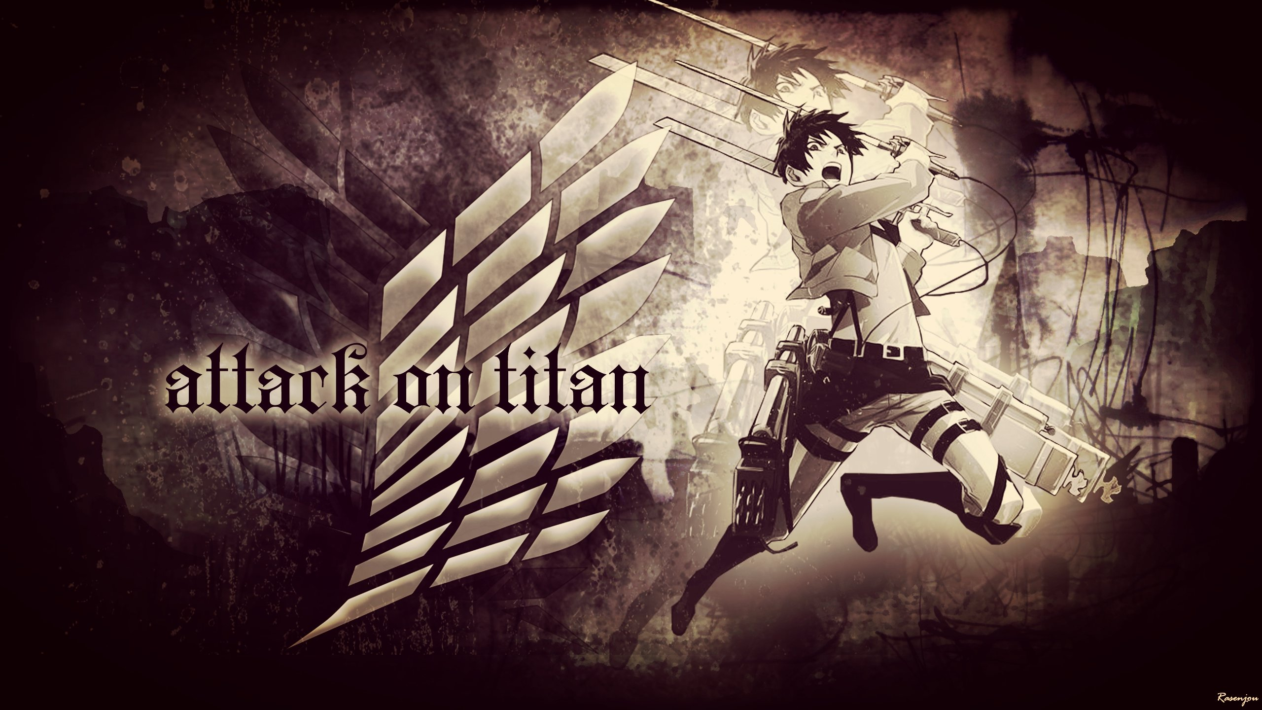 Attack On Titan Wallpapers 2560x1440 Desktop Backgrounds