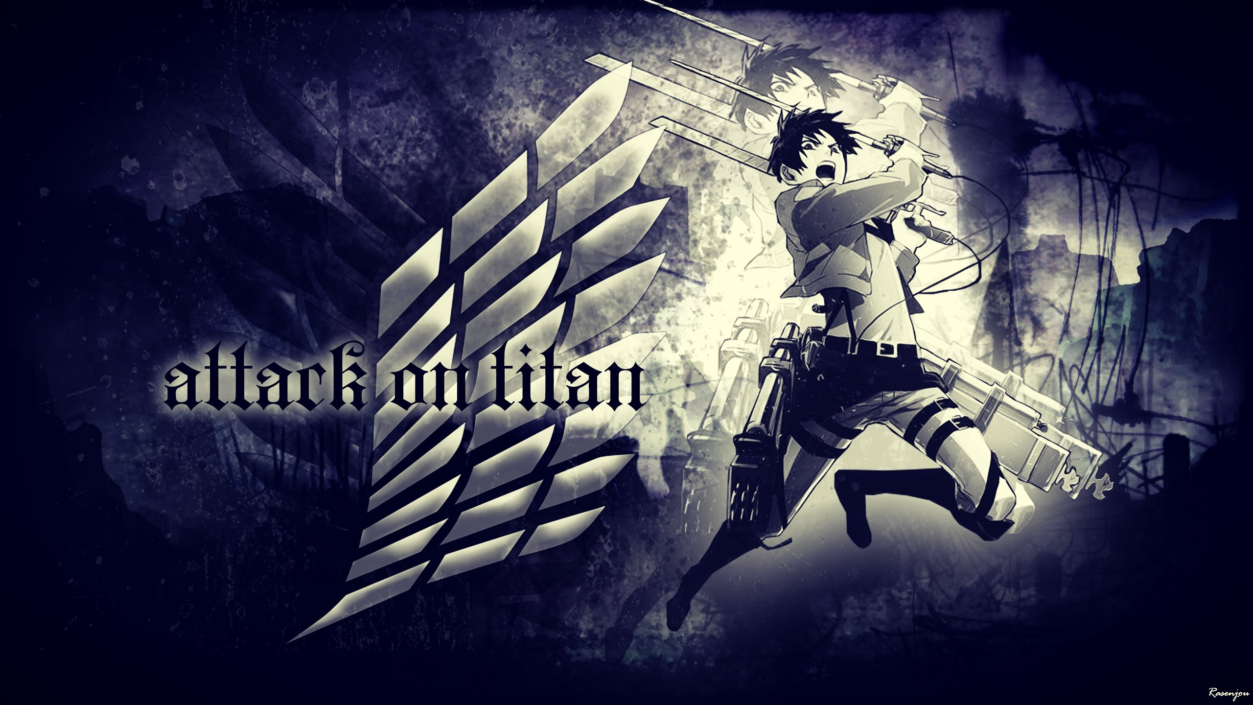 Free Eren Yeager high quality background ID:206936 for hd 2560x1440 computer