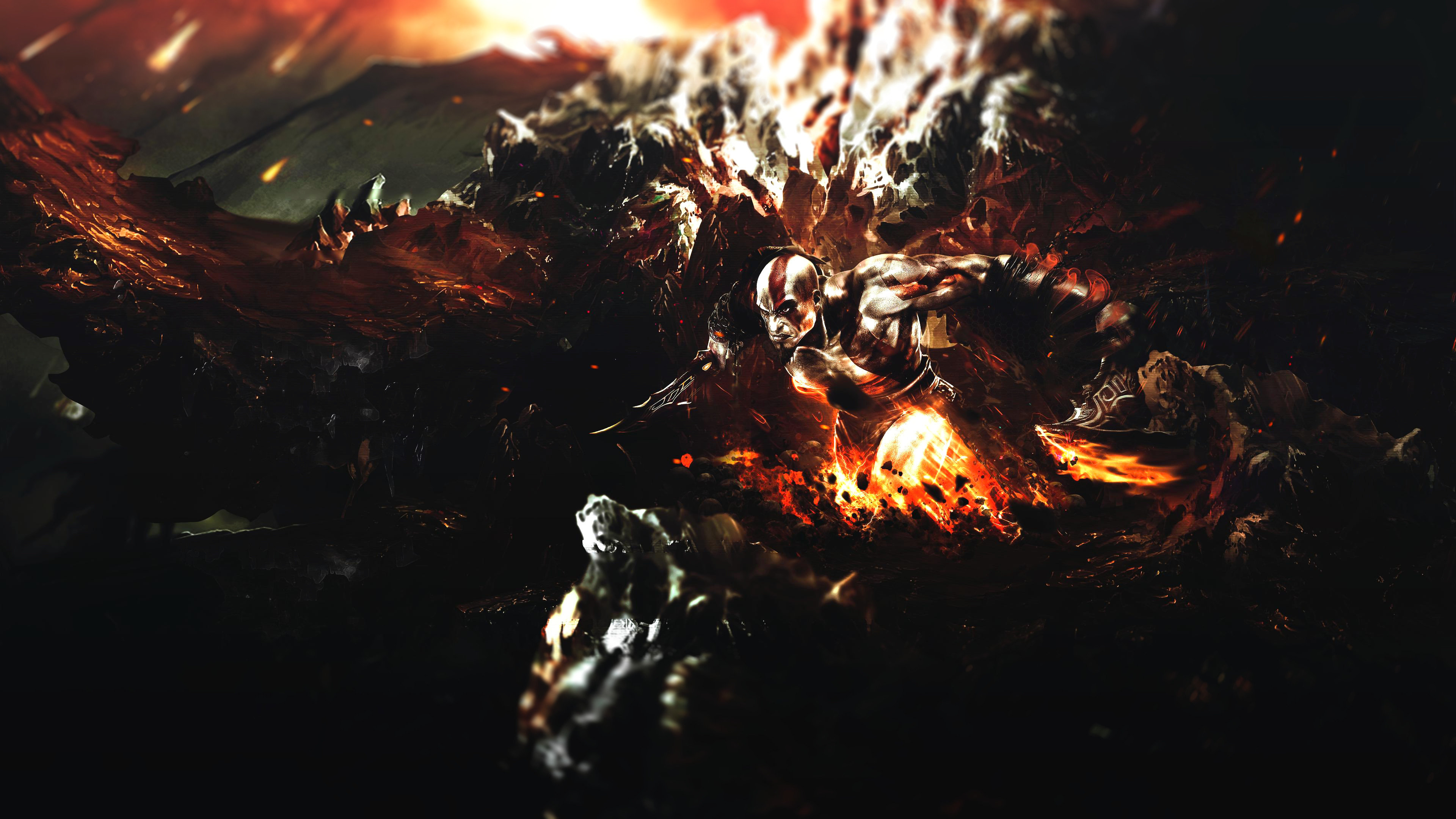 God Of War Wallpapers 3840x2160 Ultra Hd 4k Desktop Backgrounds