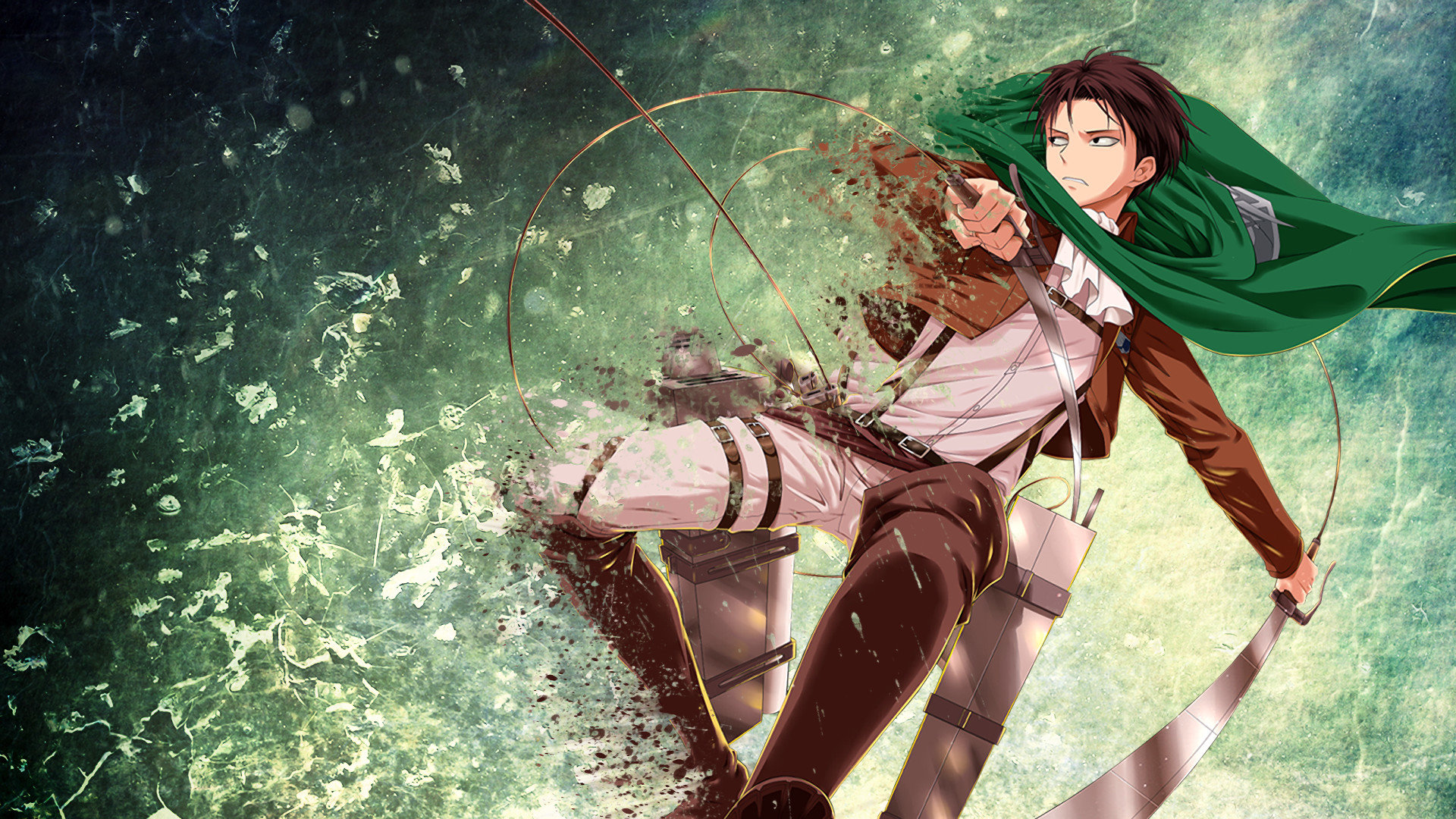 Download Full Hd Levi Ackerman Pc Background Id 206514 For Free