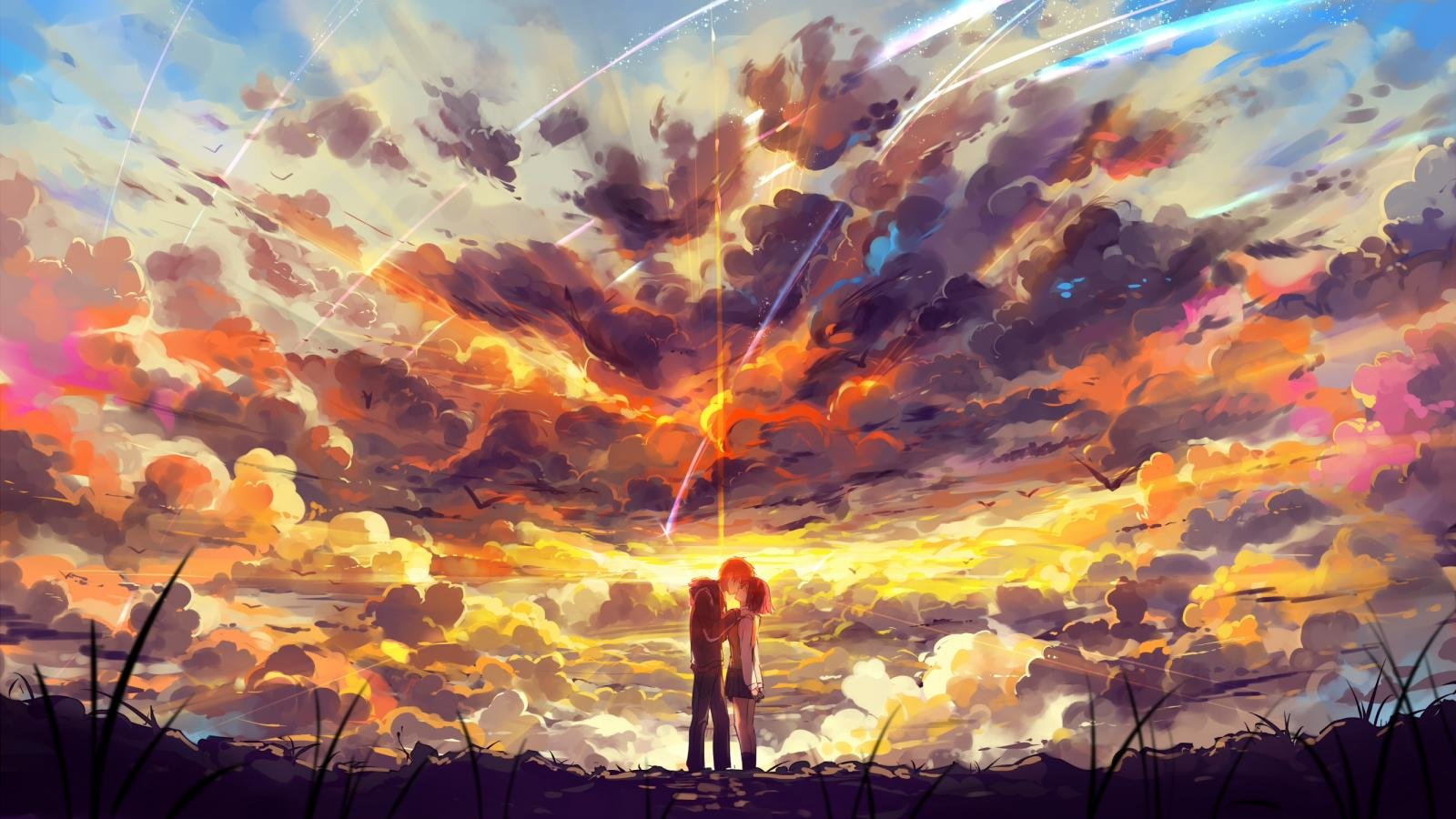 BEST WALLPAPER: Your Name Wallpaper Pc