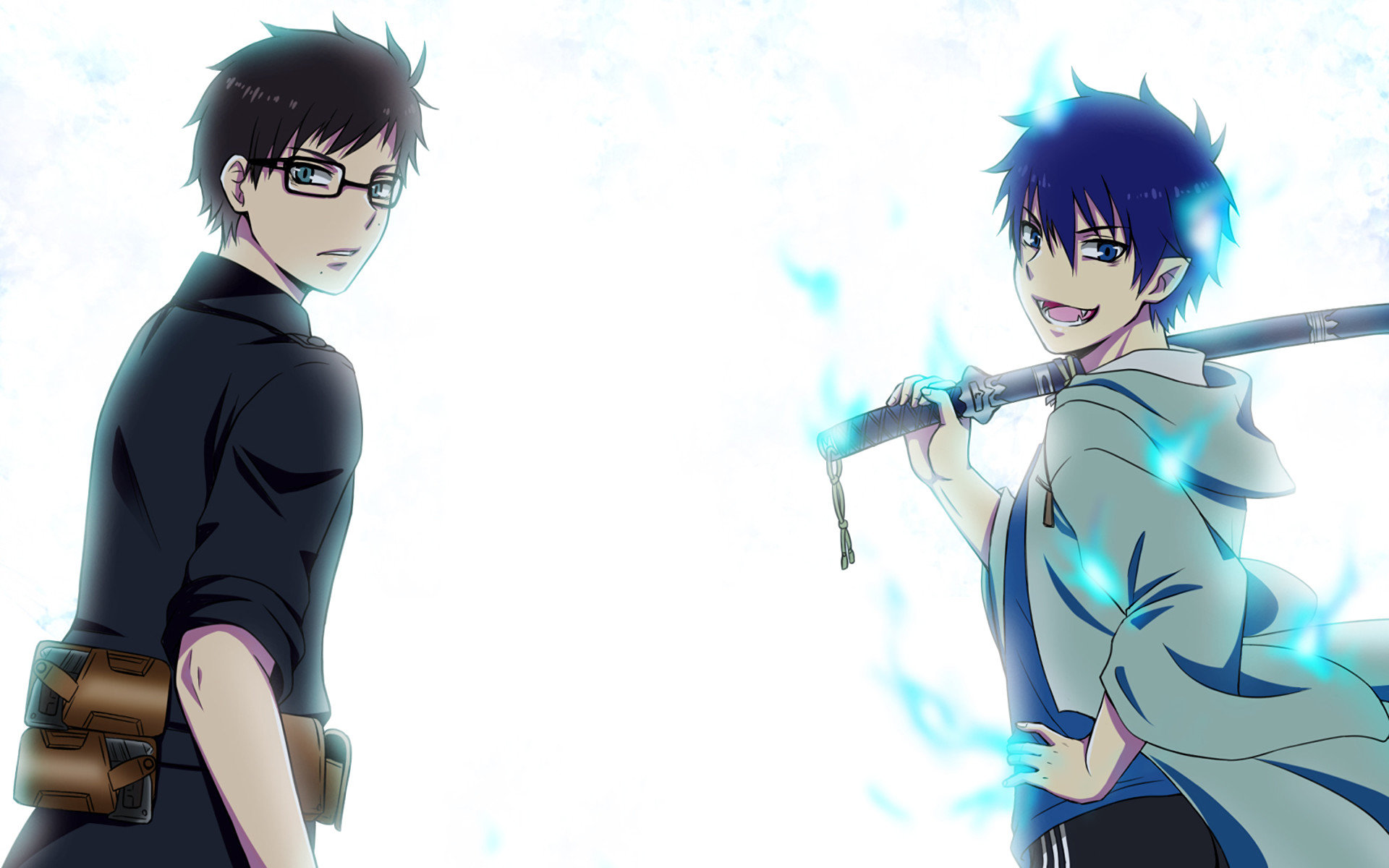 Download hd 1920x1200 Blue Exorcist (Ao No) PC background ID:242176 for free