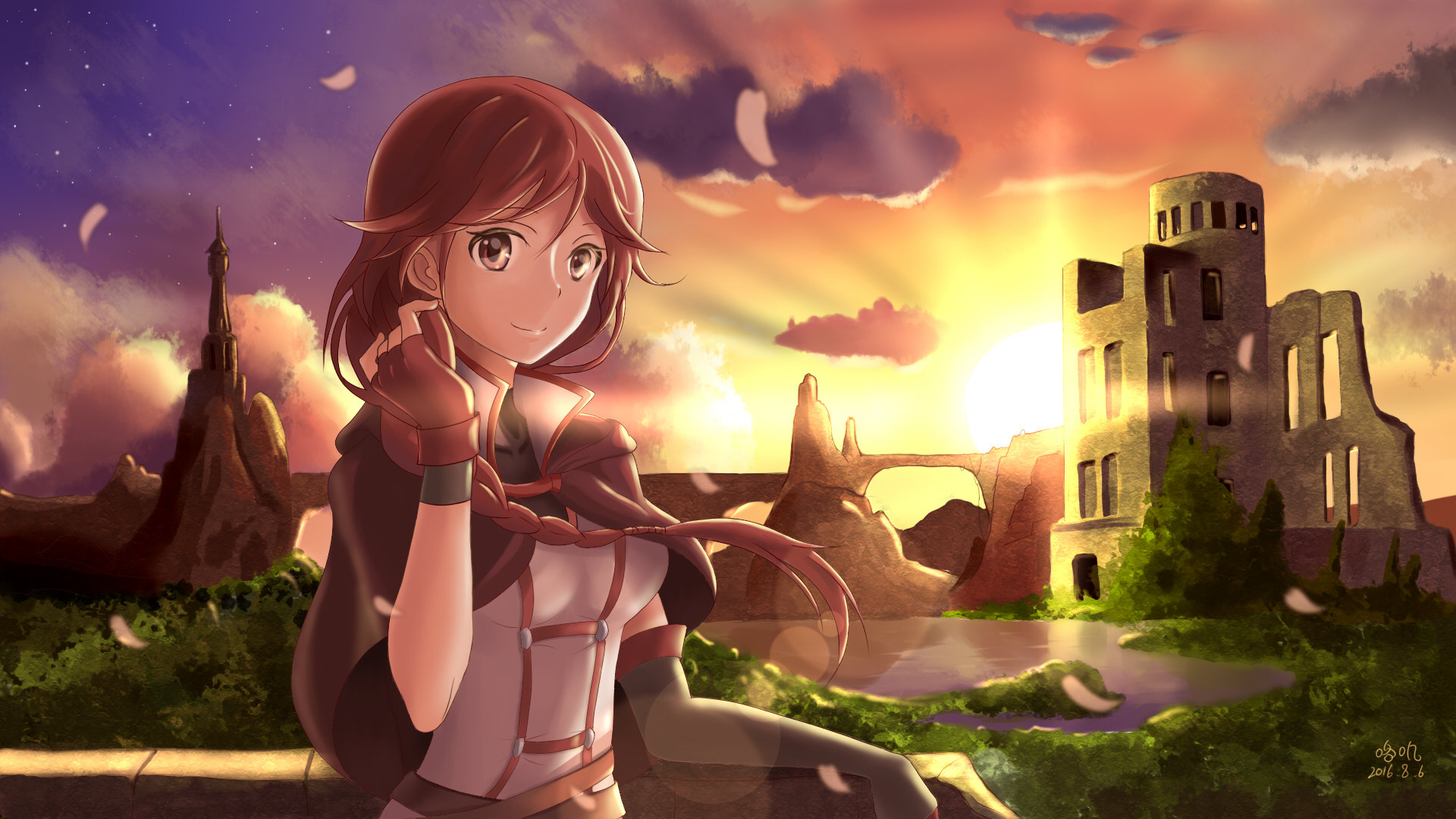 Download 1080p Grimgar Of Fantasy And Ash computer wallpaper ID:39956 for free