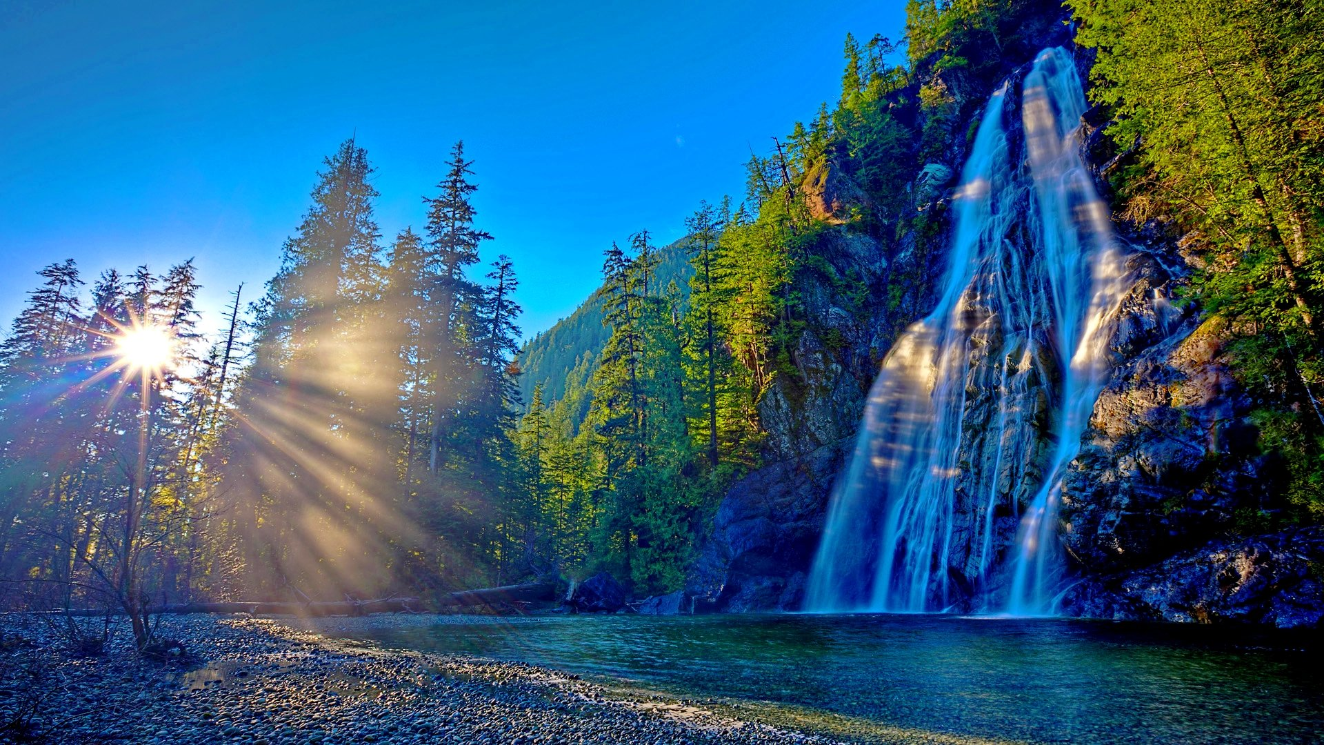 1920x1080 Hd Wallpapers Waterfall: Waterfall Wallpapers 1920x1080 Full HD (1080p) Desktop