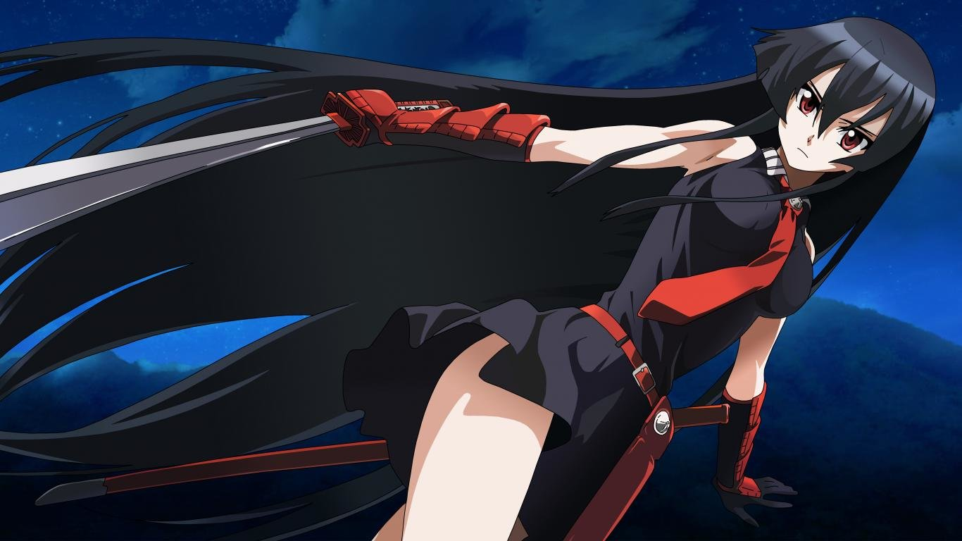 Free Akame Ga Kill! high quality background ID:208091 for 1366x768 laptop desktop