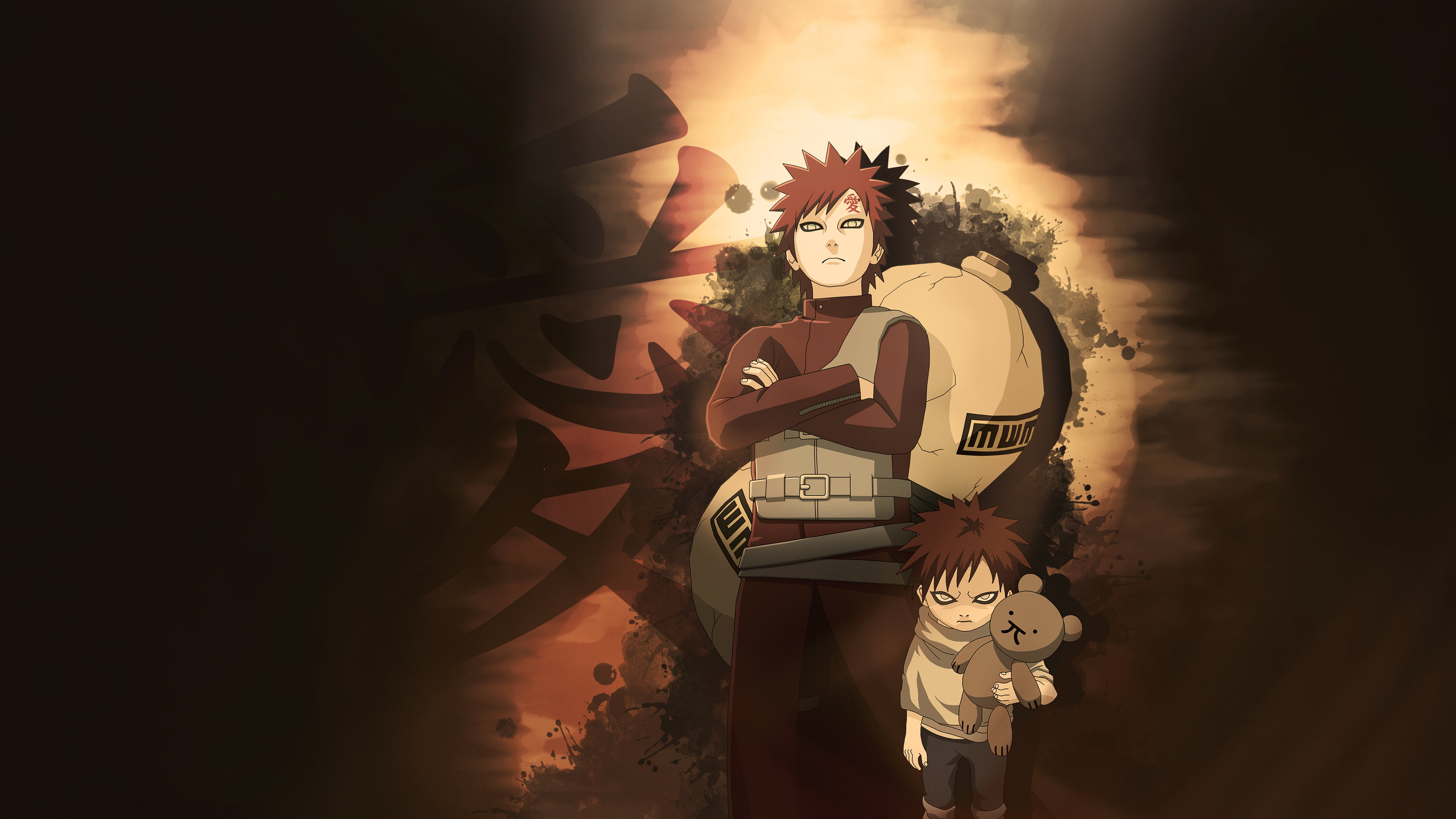 Download 4k Gaara (Naruto) desktop background ID:395257 for free