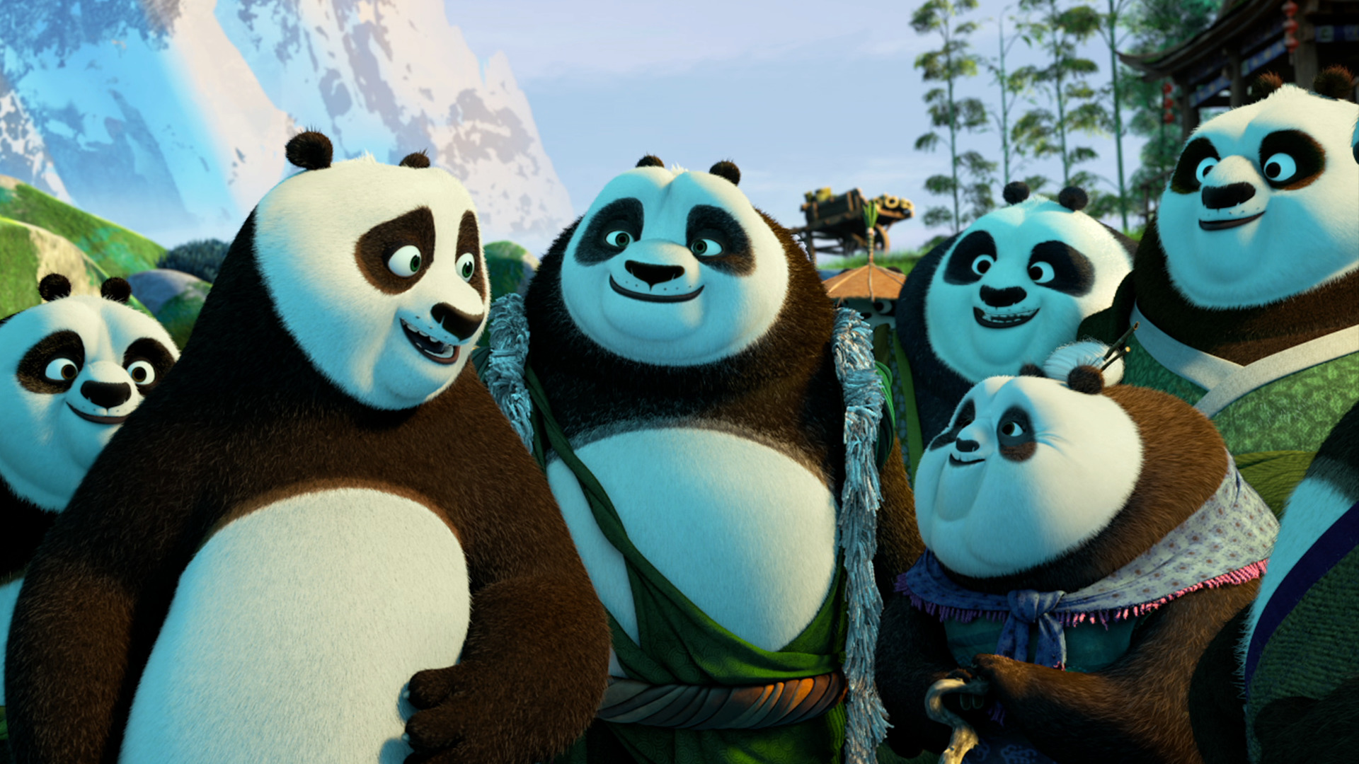 free kung fu panda 3 high quality background id:209031 for hd 1080p
