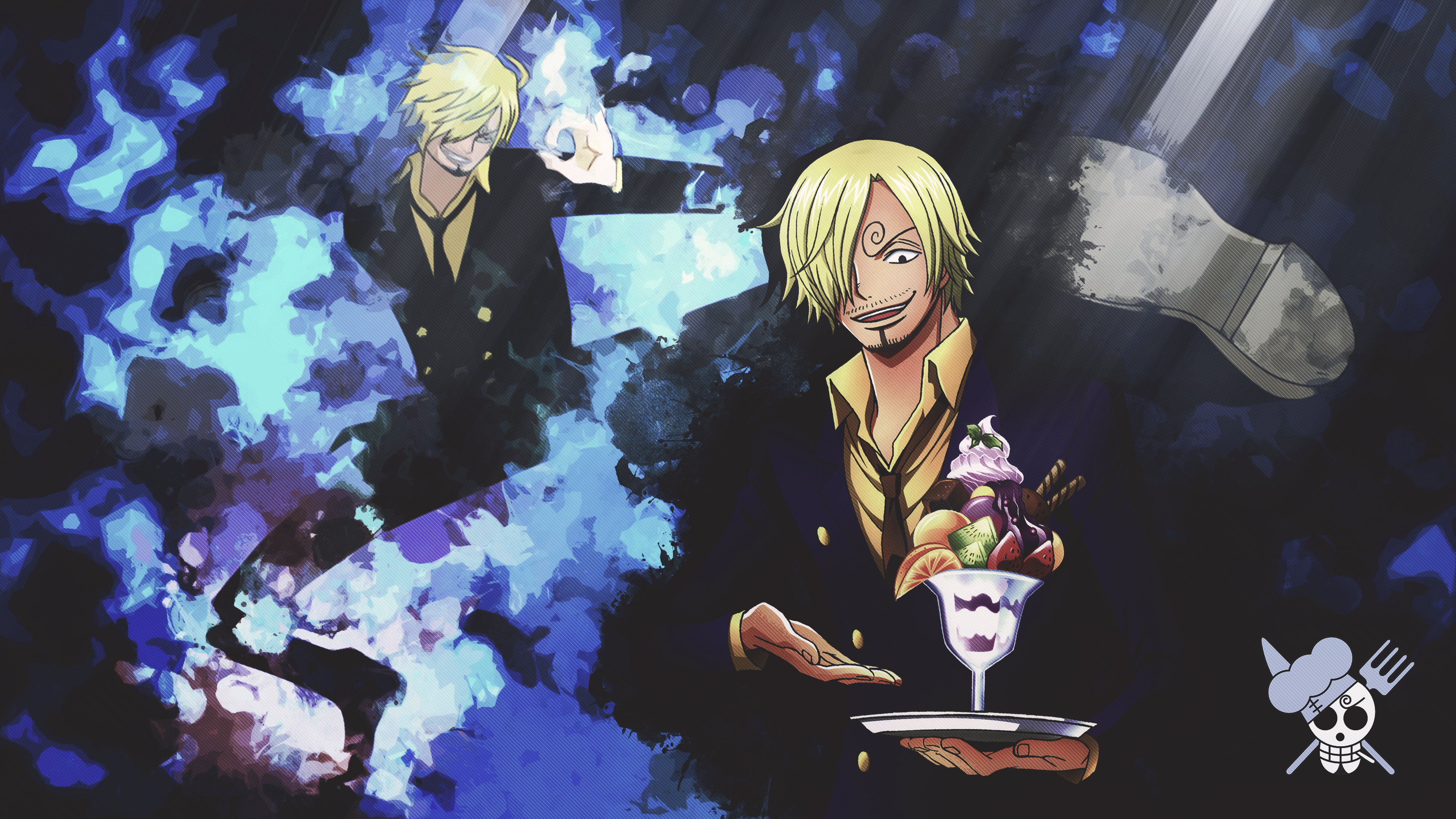 High Resolution Sanji One Piece Hd 4k Background ID314775 For Desktop