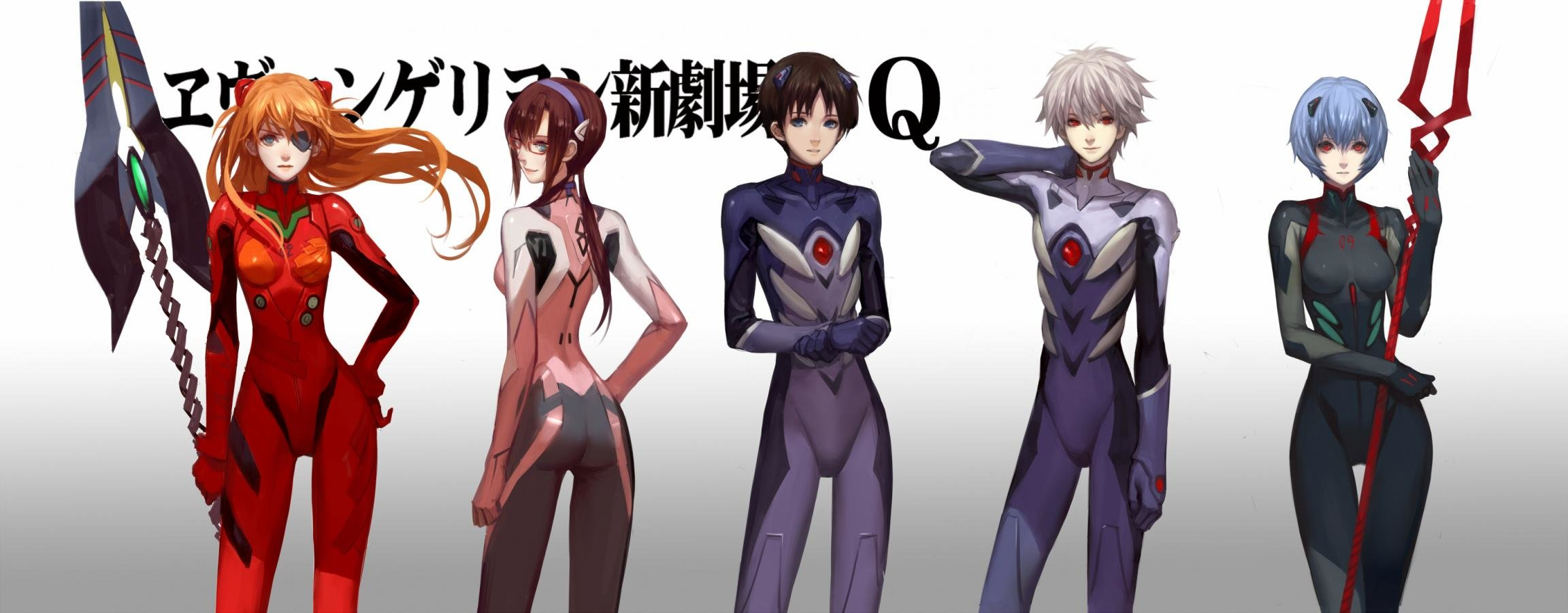 Free Download Neon Genesis Evangelion Wallpaper ID215272 Dual Monitor 2304x900 For PC