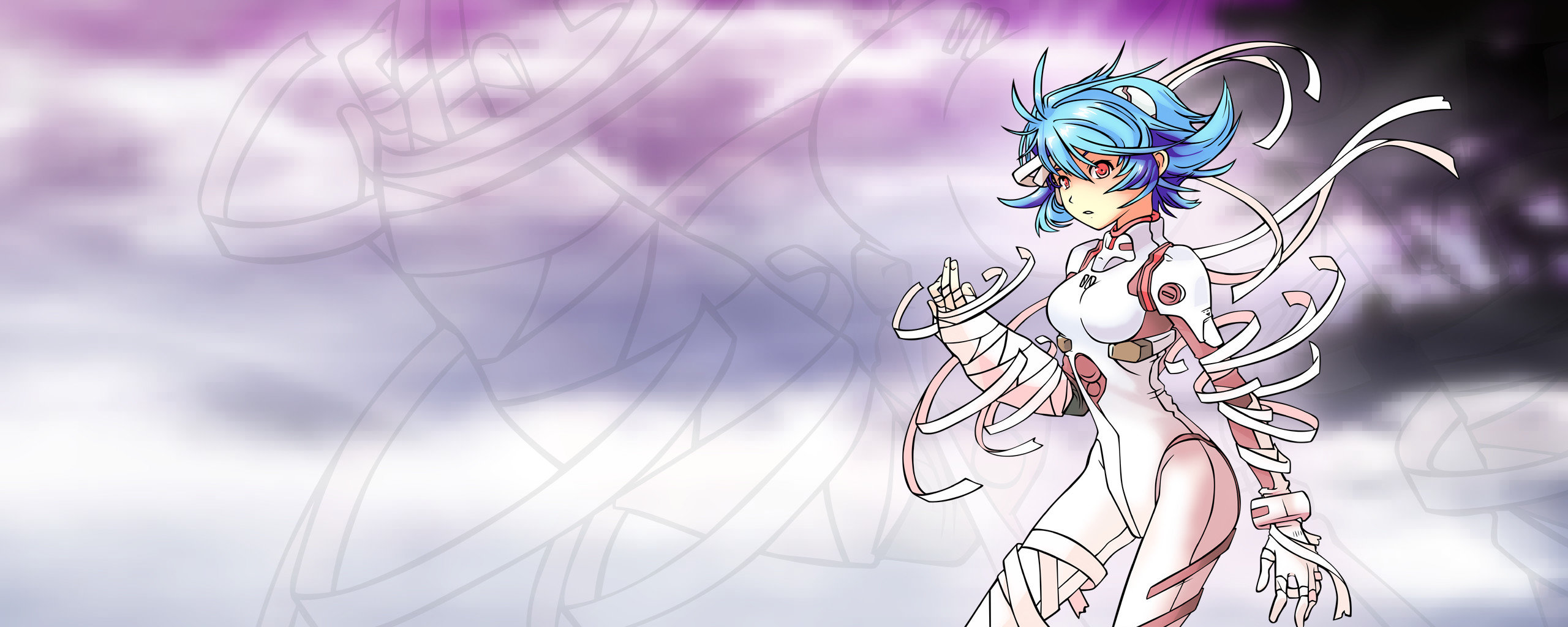 Awesome Rei Ayanami free background ID:215278 for dual monitor 2569x1024 PC
