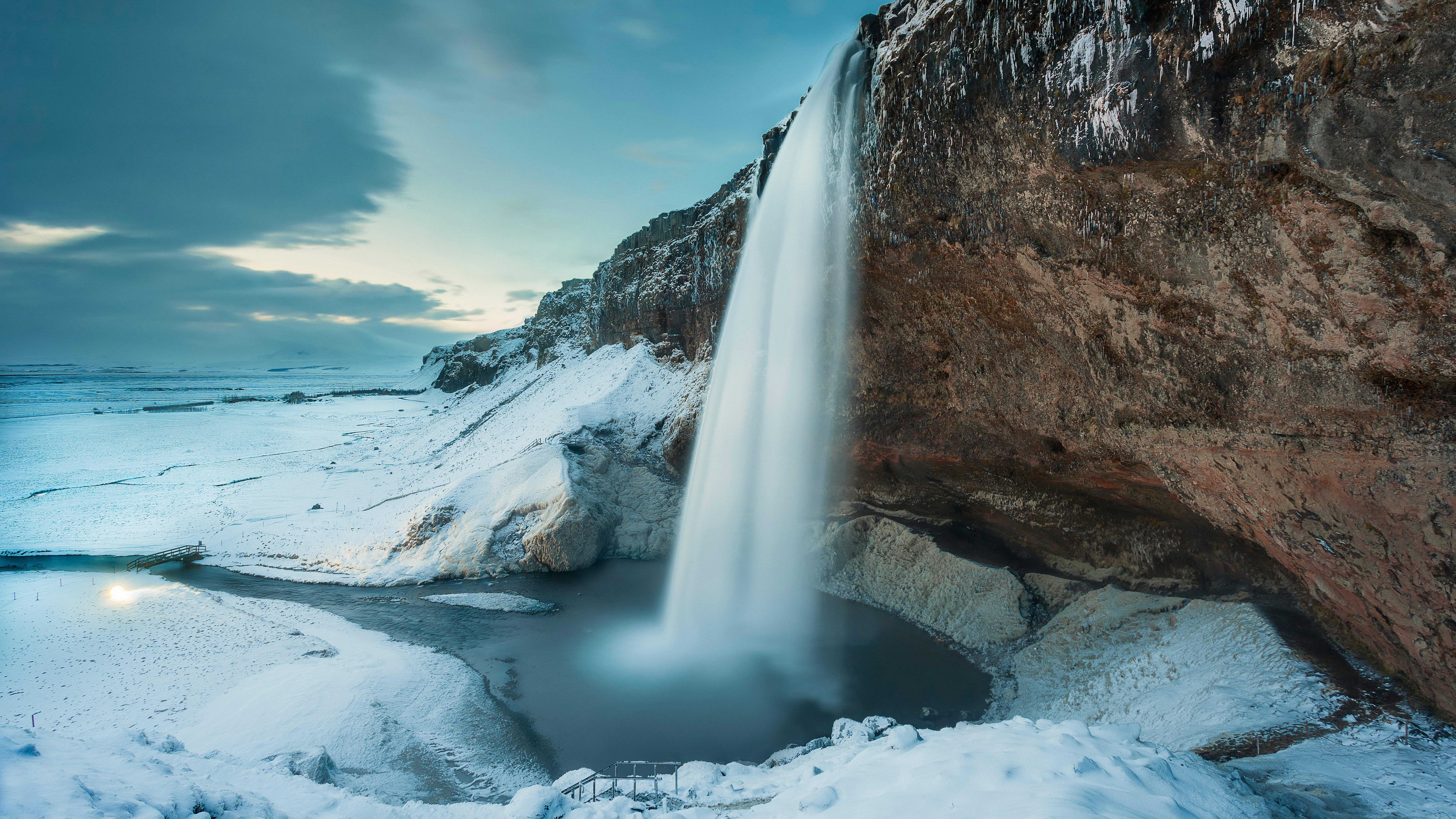 Зимний водопад  № 2946954  скачать