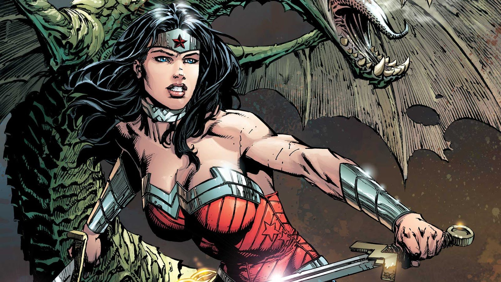 Free Wonder Woman high quality background ID:240350 for hd 1600x900 PC