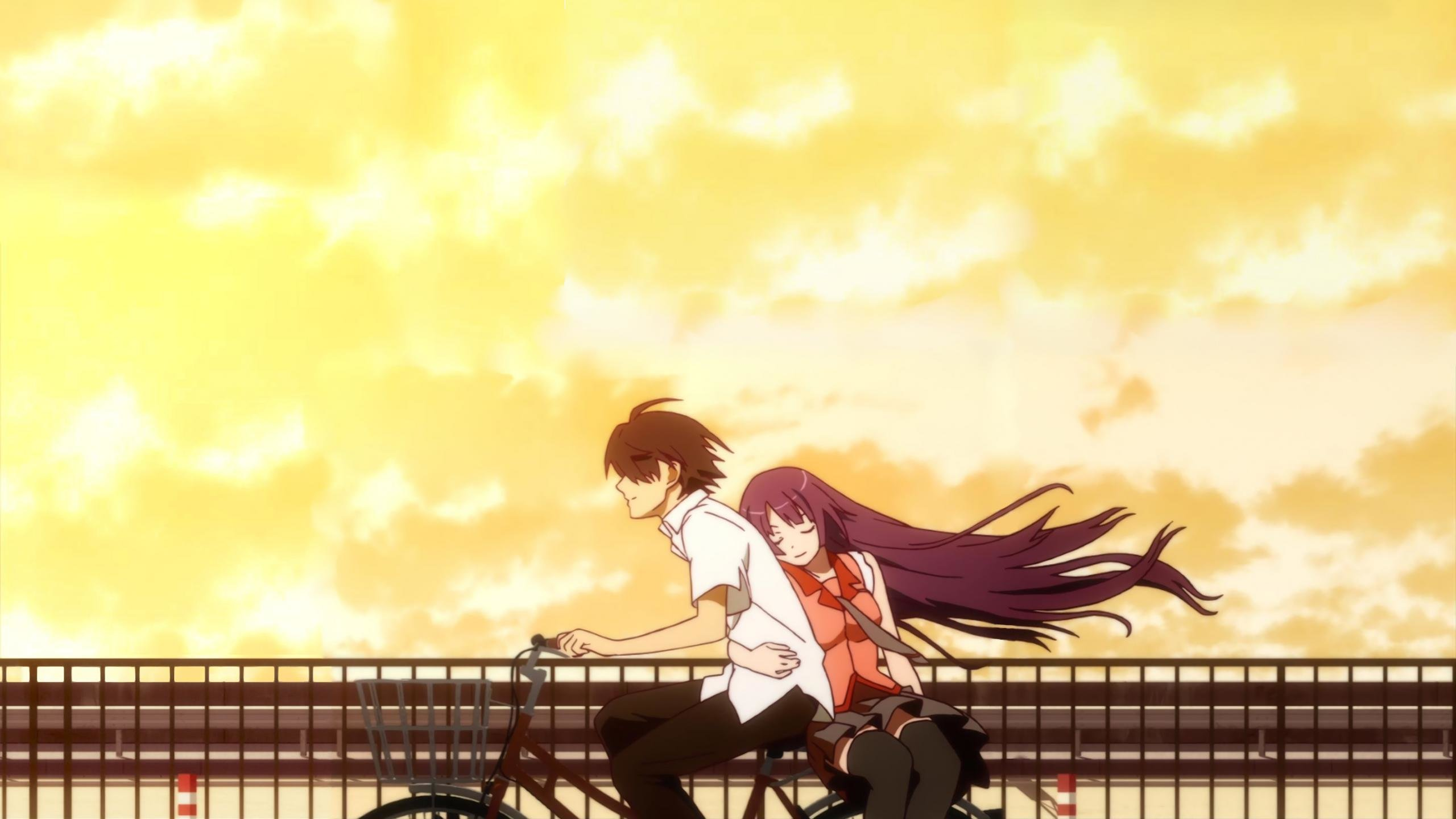 Free download Monogatari (Series) background ID:108640 hd 2560x1440 for desktop