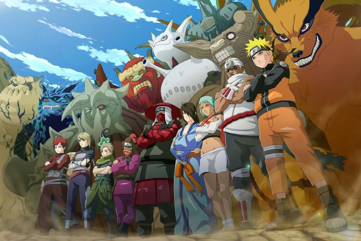 Download hd 1152x768 Naruto desktop background ID:395696 for free