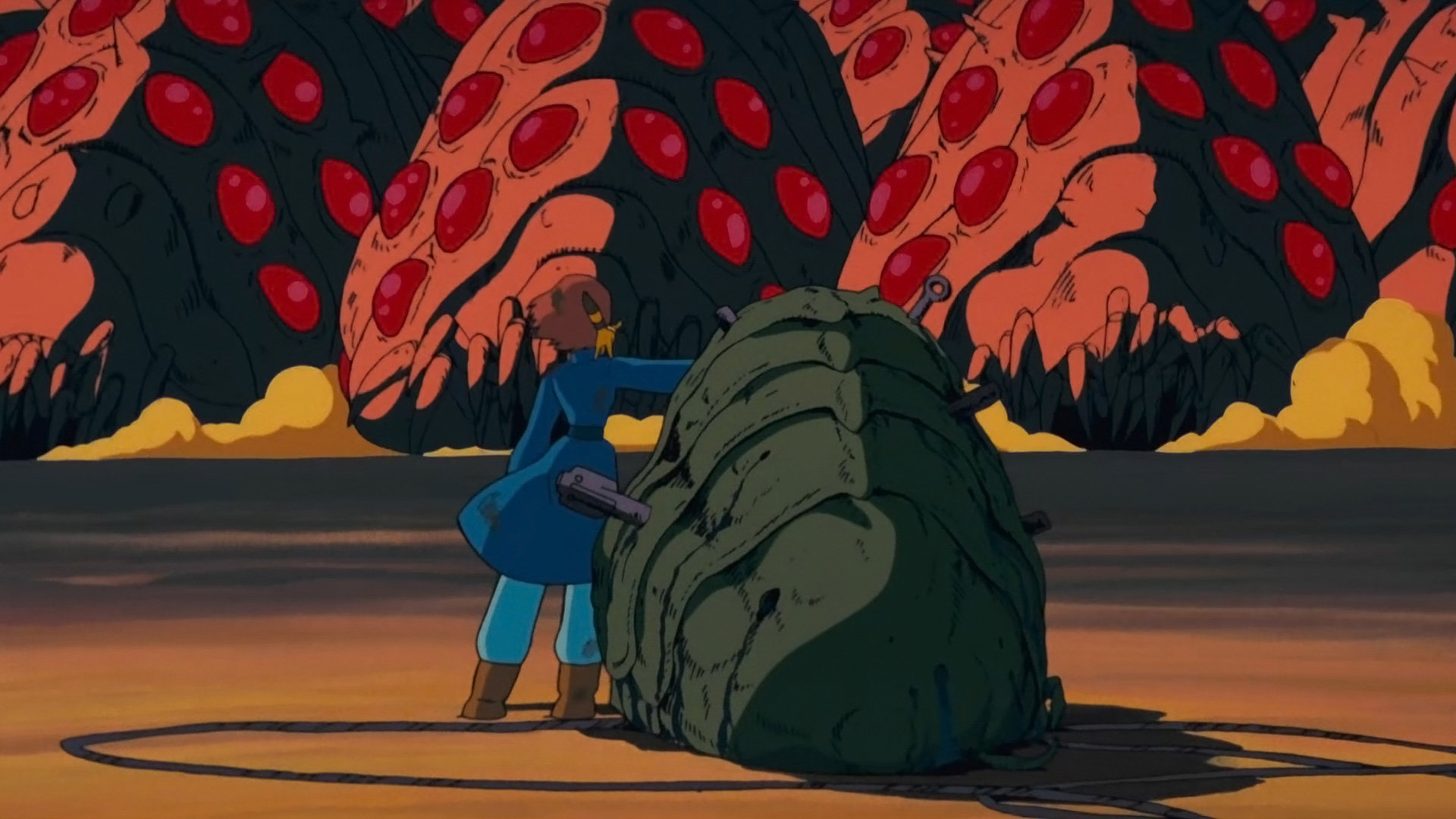 Best Nausicaa Of The Valley Of The Wind background ID:315401 for High Resolution 1080p desktop
