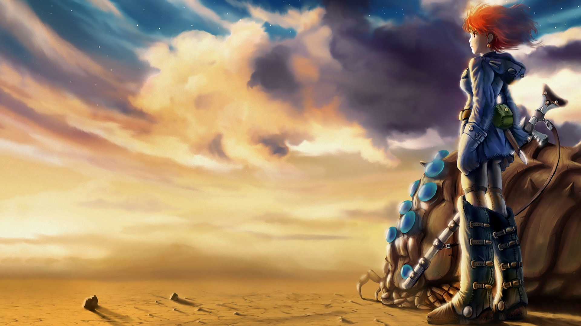 High resolution Nausicaa Of The Valley Of The Wind hd 1920x1080 wallpaper ID:315379 for desktop
