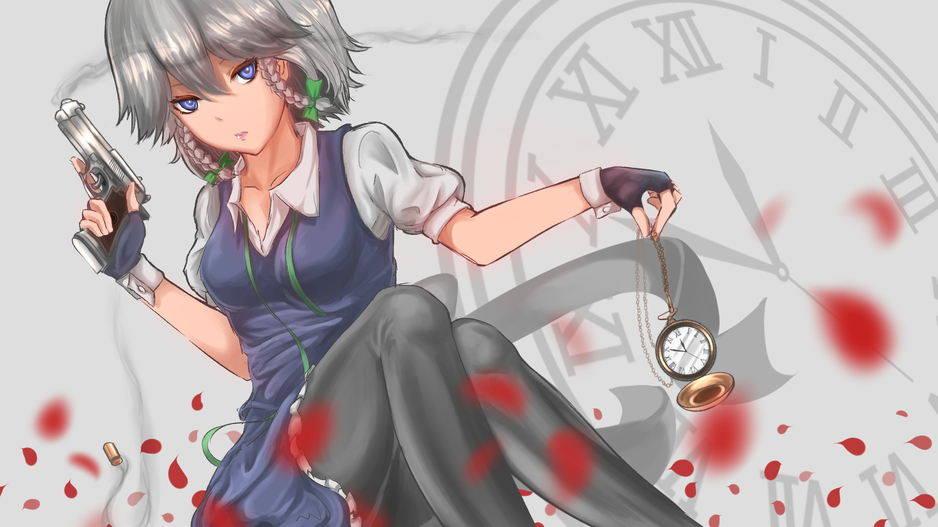 Free Sakuya Izayoi high quality background ID:221165 for full hd 1080p desktop