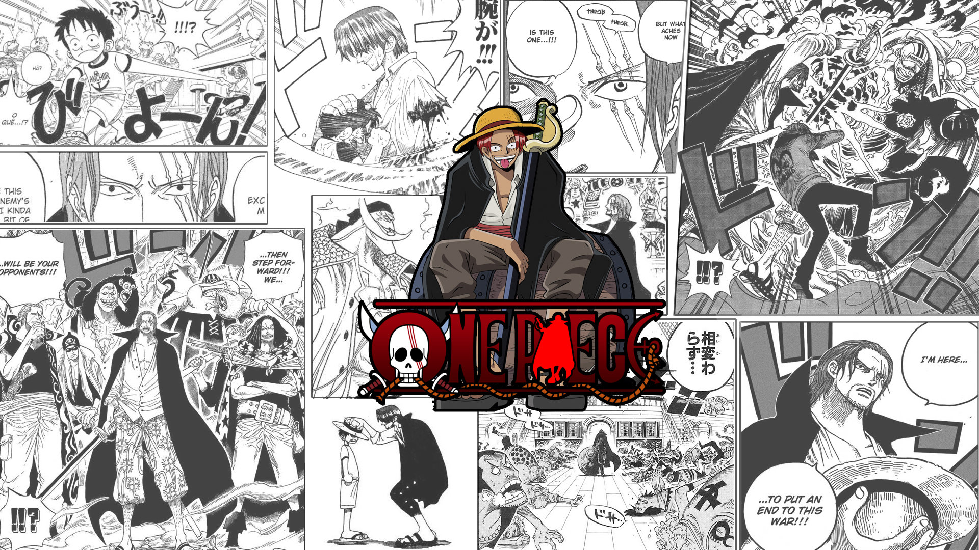 Download hd 1080p Shanks (One Piece) desktop background ID:314532 for free