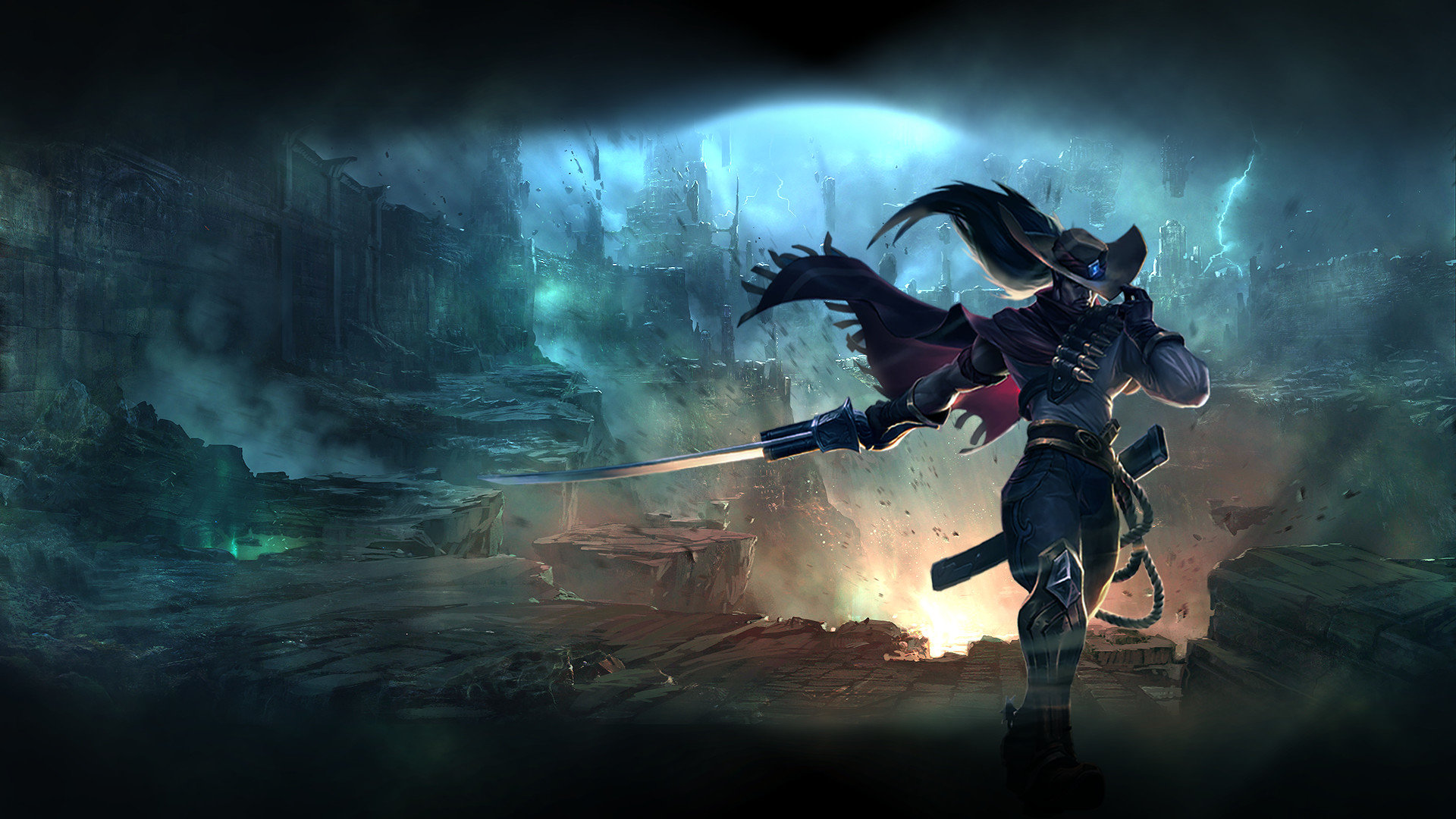 Download Full Hd Yasuo League Of Legends Computer
