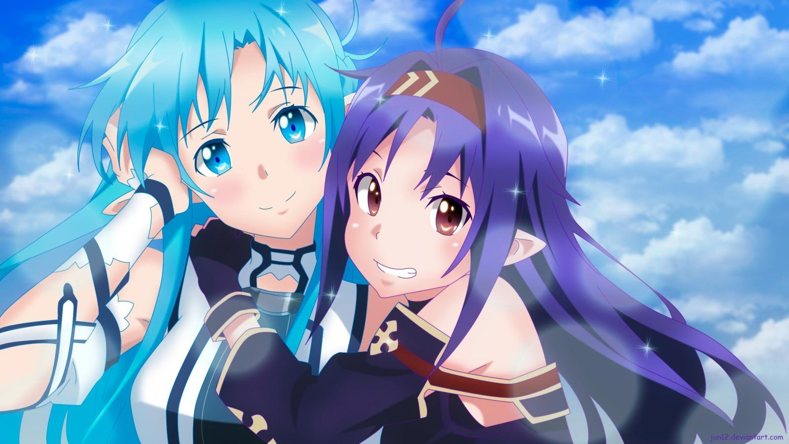 Awesome Sword Art Online 2 (II) free background ID:112776 for hd 1600x900 desktop