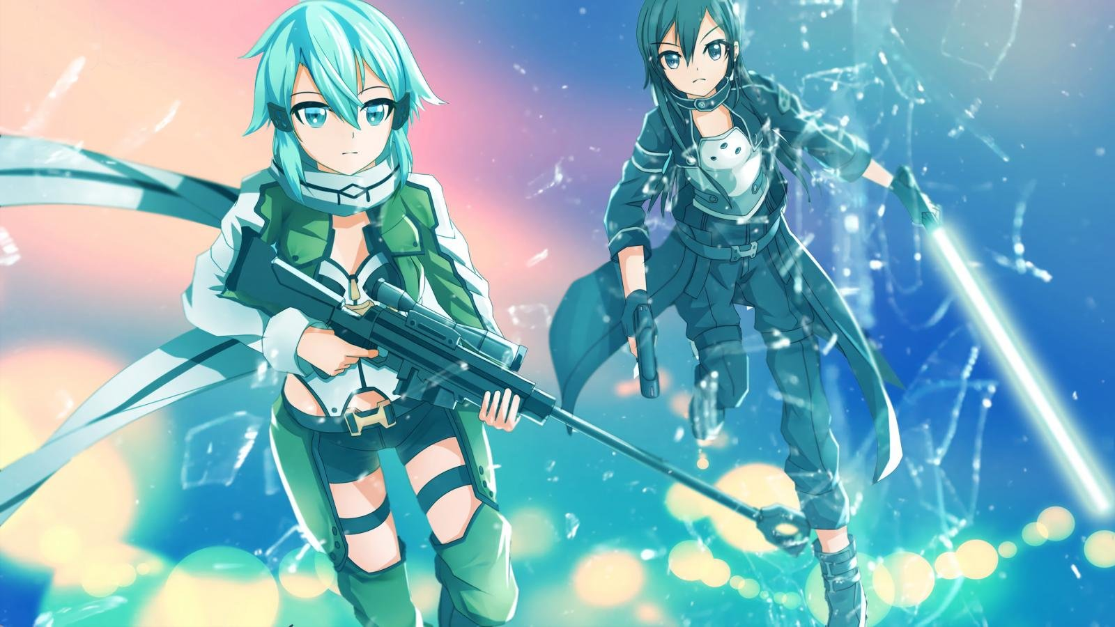 Free download Sword Art Online 2 (II) wallpaper ID:112770 hd 1600x900 for desktop