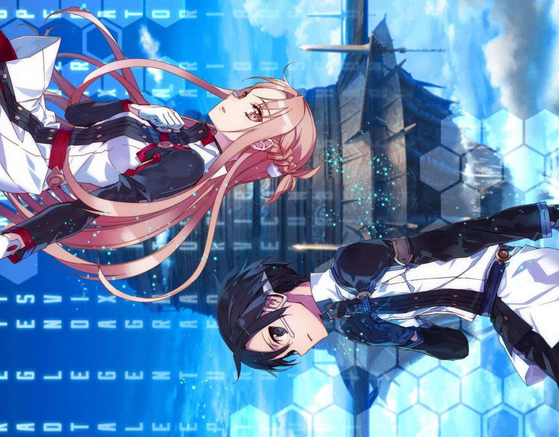 Download hd 1152x900 Sword Art Online Movie: Ordinal Scale computer background ID:243271 for free
