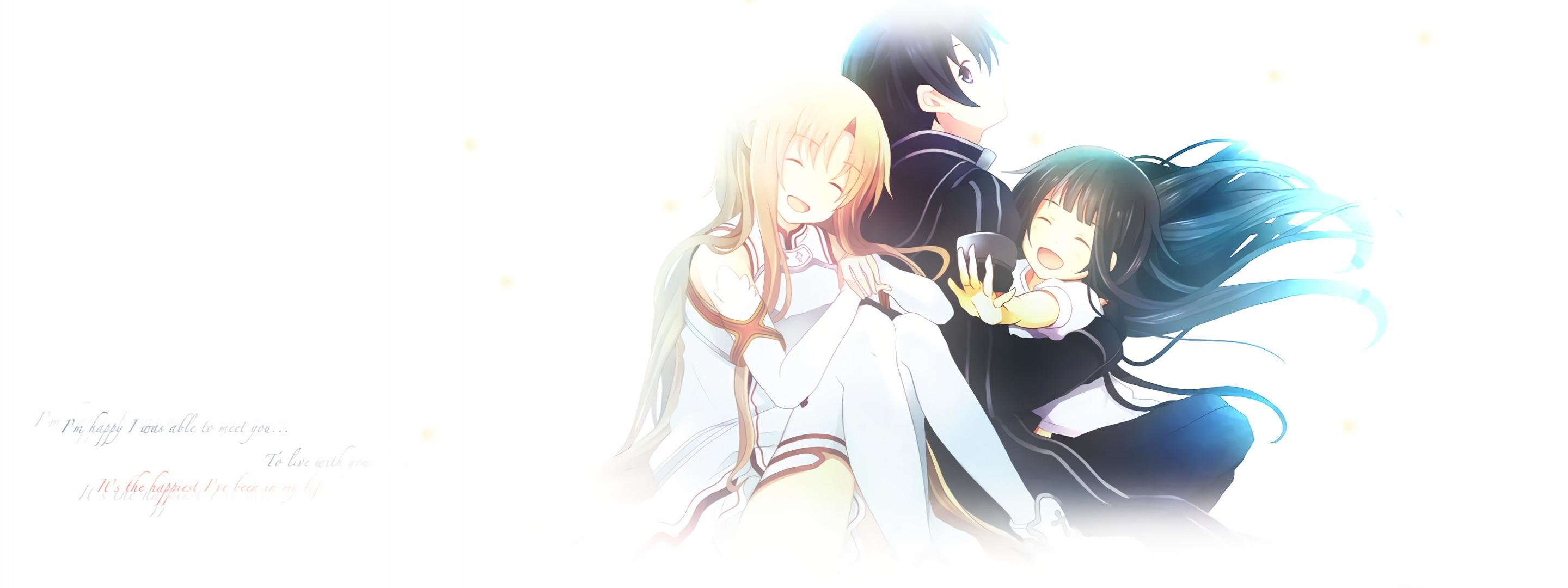 Free download Sword Art Online (SAO) background ID:181906 dual monitor 2880x1080 for PC