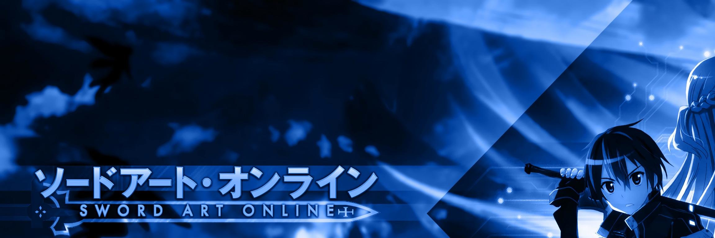 Awesome Sword Art Online (SAO) free background ID:181927 for dual screen 2304x768 PC