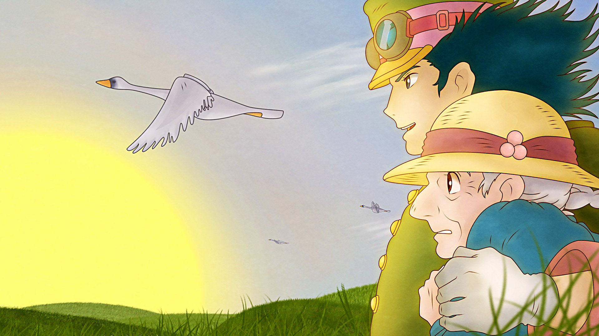 Free download Howl's Moving Castle wallpaper ID:347904 full hd for desktop