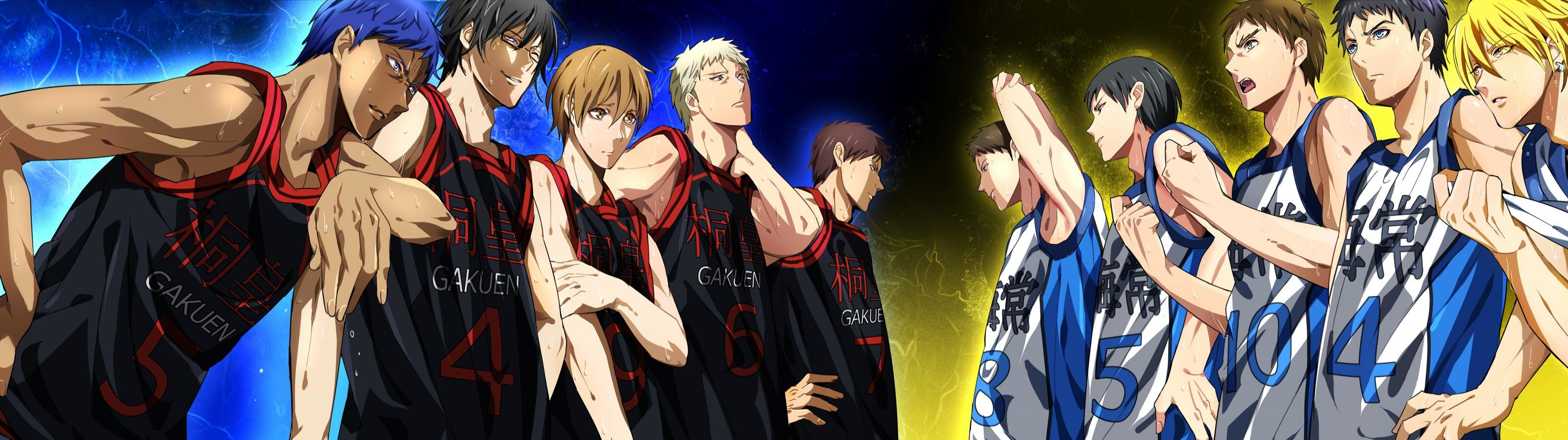 High resolution Kuroko's Basketball dual monitor 3200x900 wallpaper ID:318883 for PC