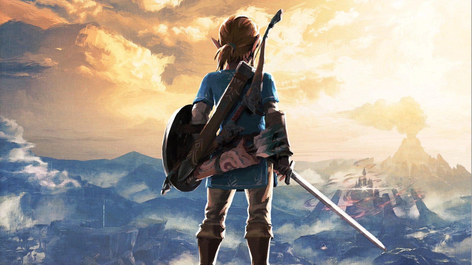 1366x768 Legend Of Zelda Breath Of The Wild Art 1366x768