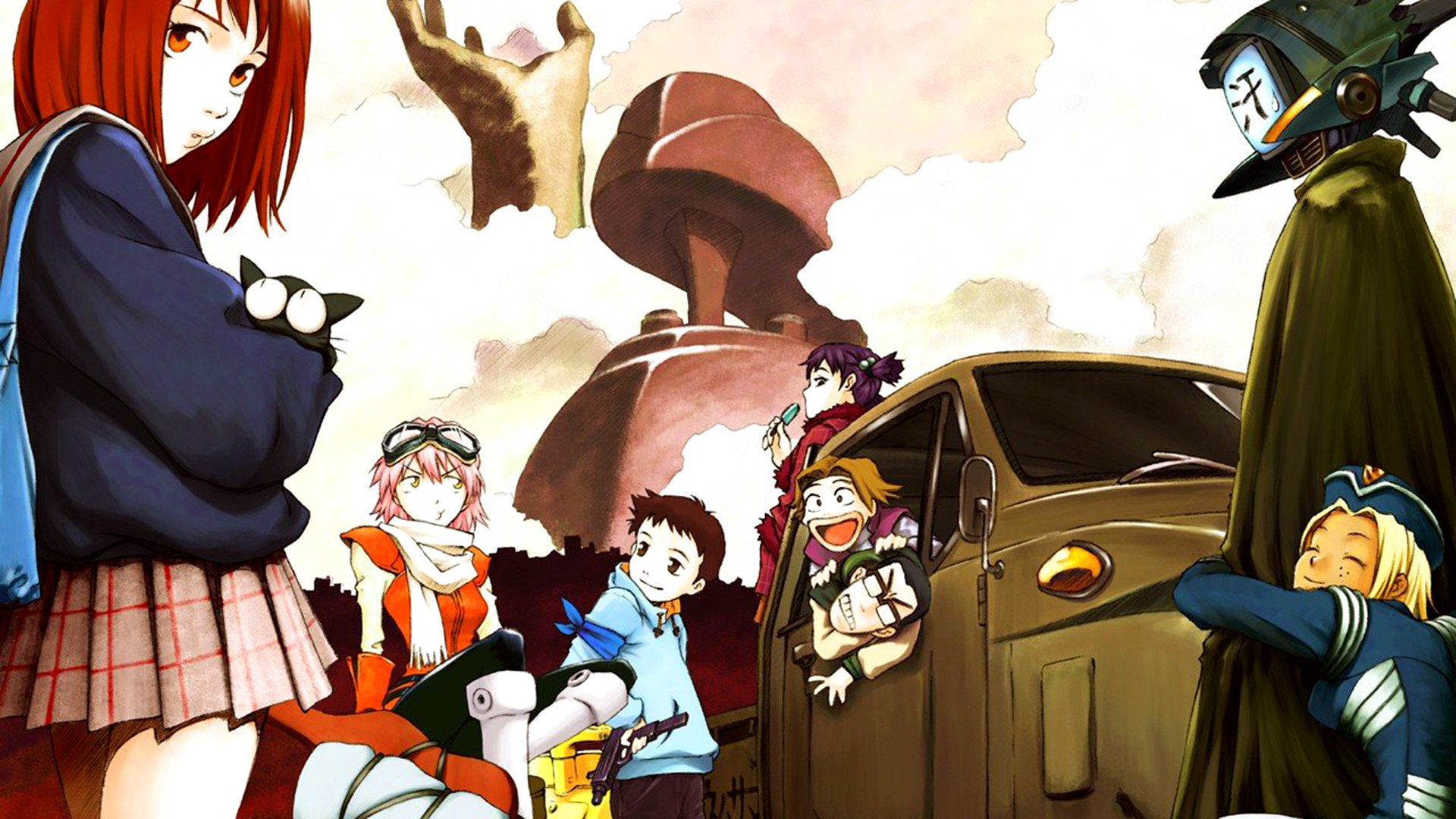 Free download FLCL background ID:339637 full hd for desktop