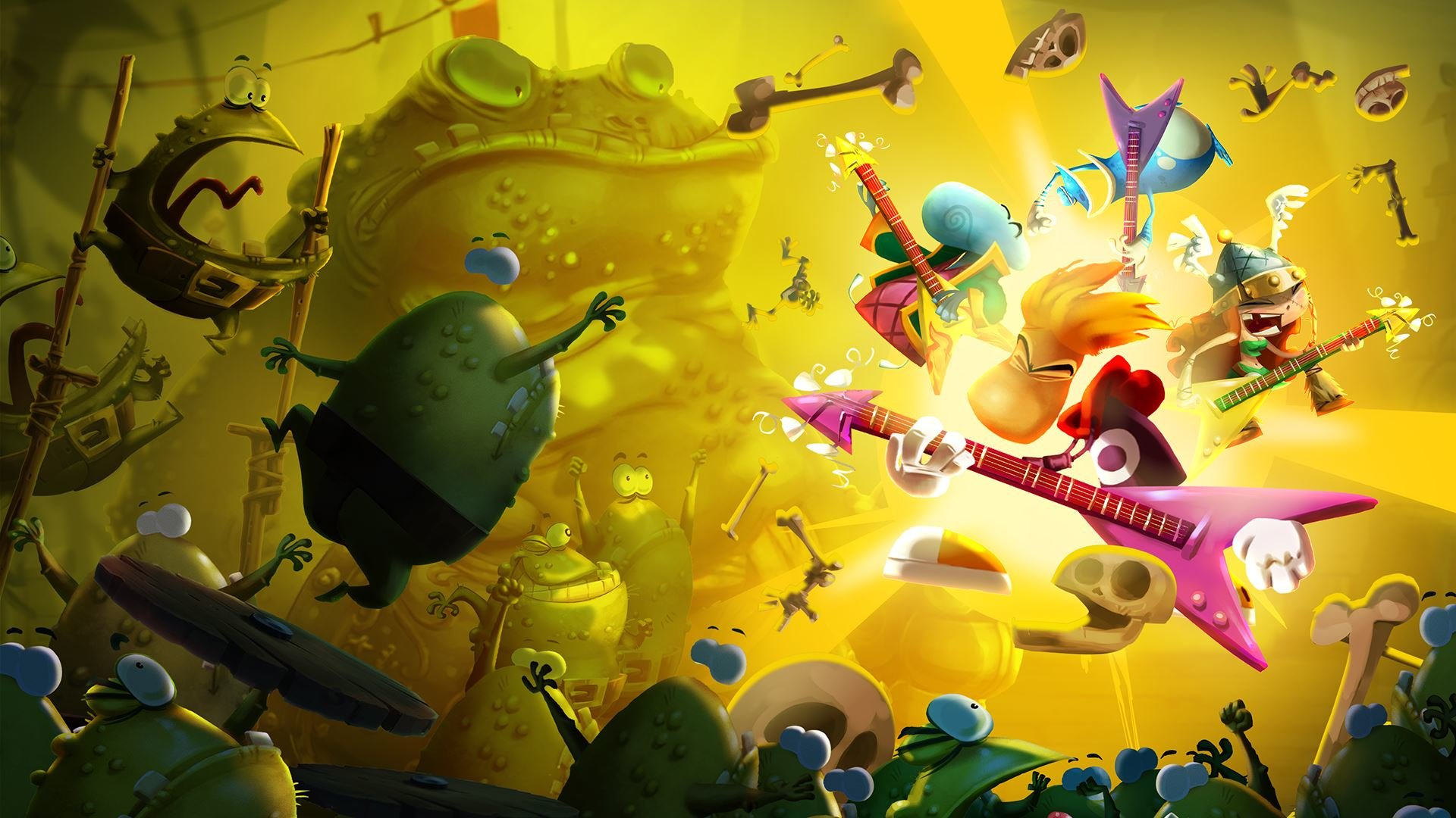 Free download Rayman Legends background ID:26539 full hd 1920x1080 for PC