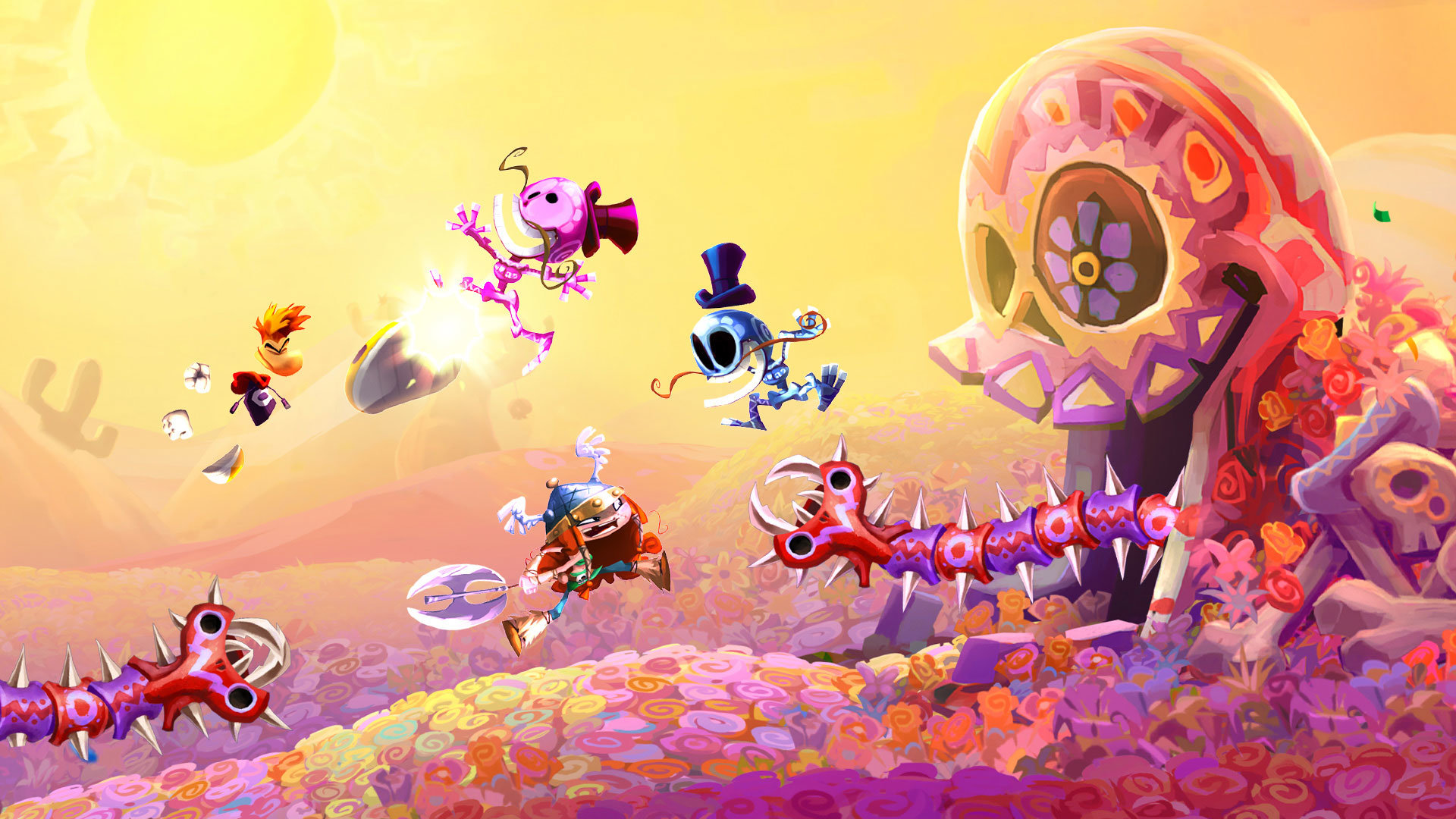 Download full hd 1920x1080 Rayman Legends computer background ID:26542 for free