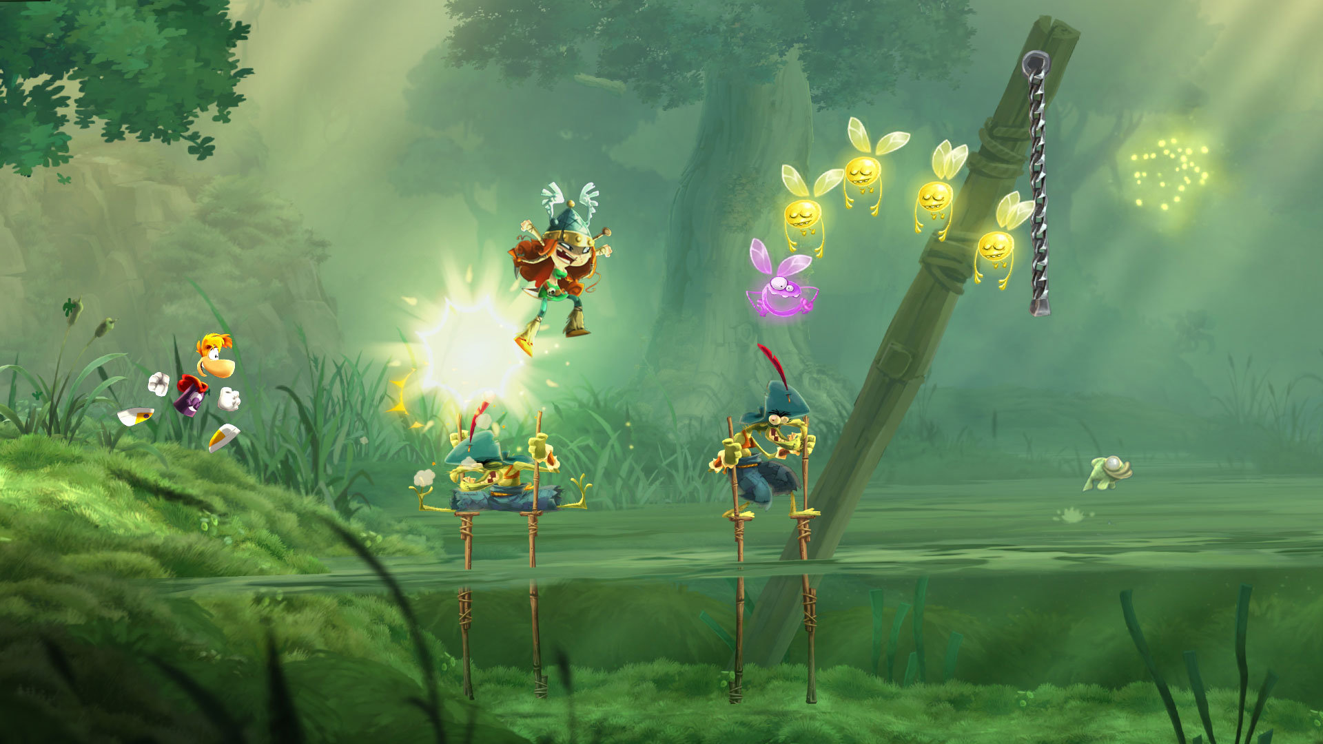 High resolution Rayman Legends hd 1920x1080 background ID:26544 for PC