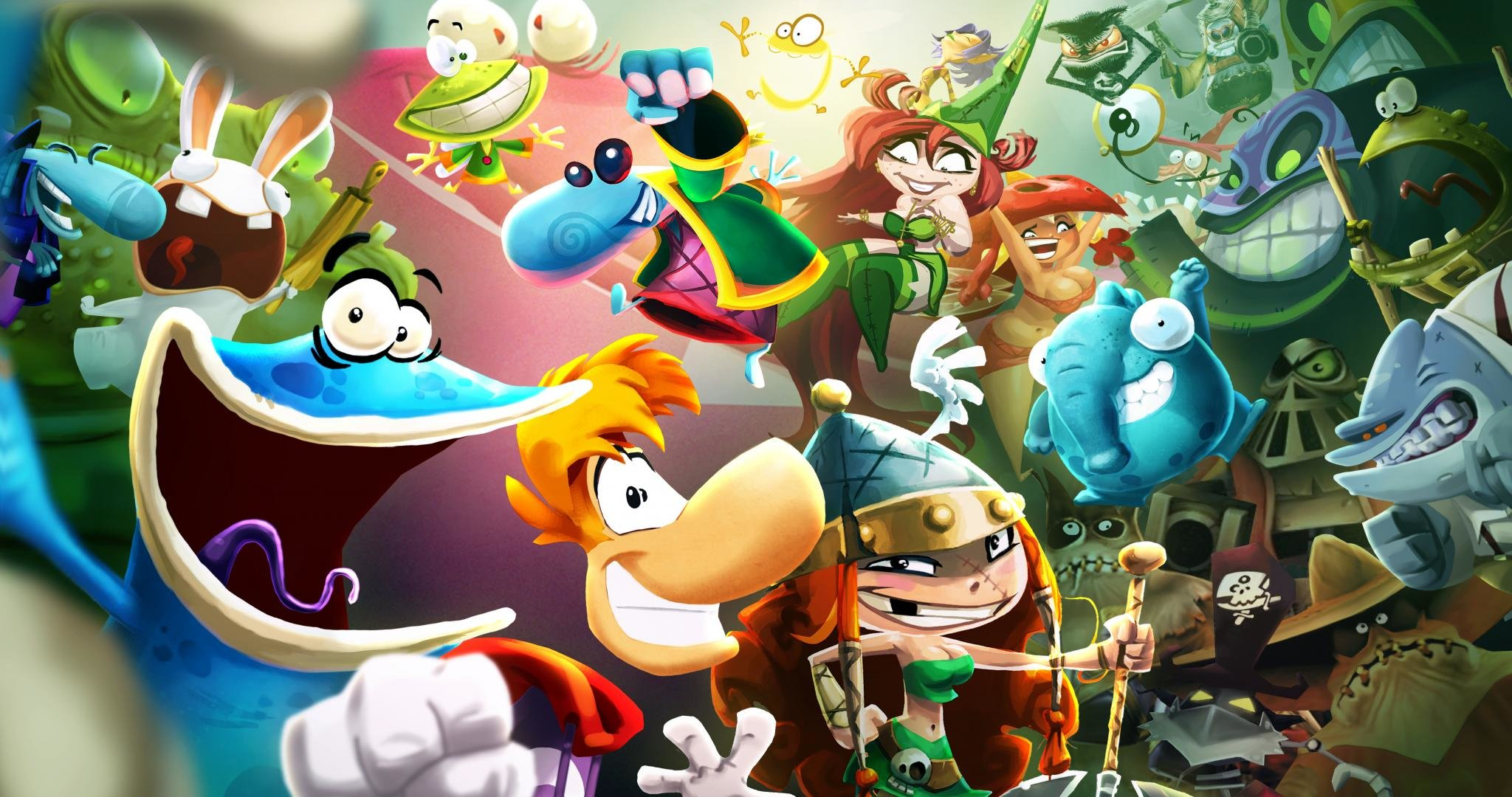 Free Rayman Legends high quality background ID:26540 for hd 2048x1080 desktop