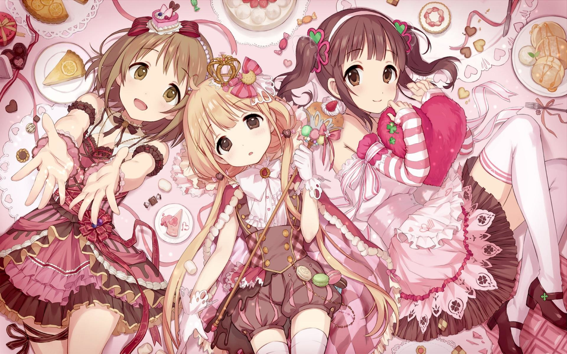 Free download IDOLM@STER Cinderella Girls background ID:446849 hd 1920x1200 for desktop