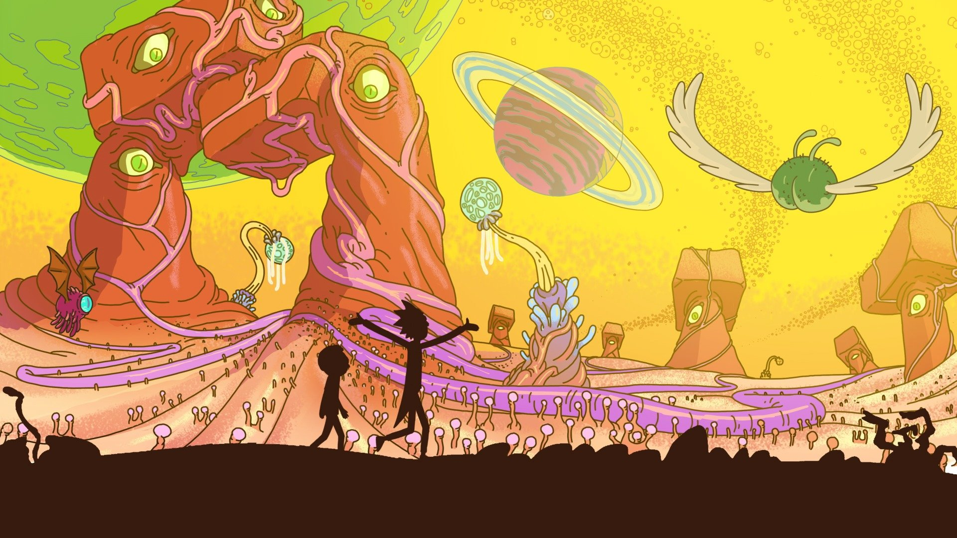 Rick And Morty Wallpapers 1920x1080 Full Hd 1080p Desktop