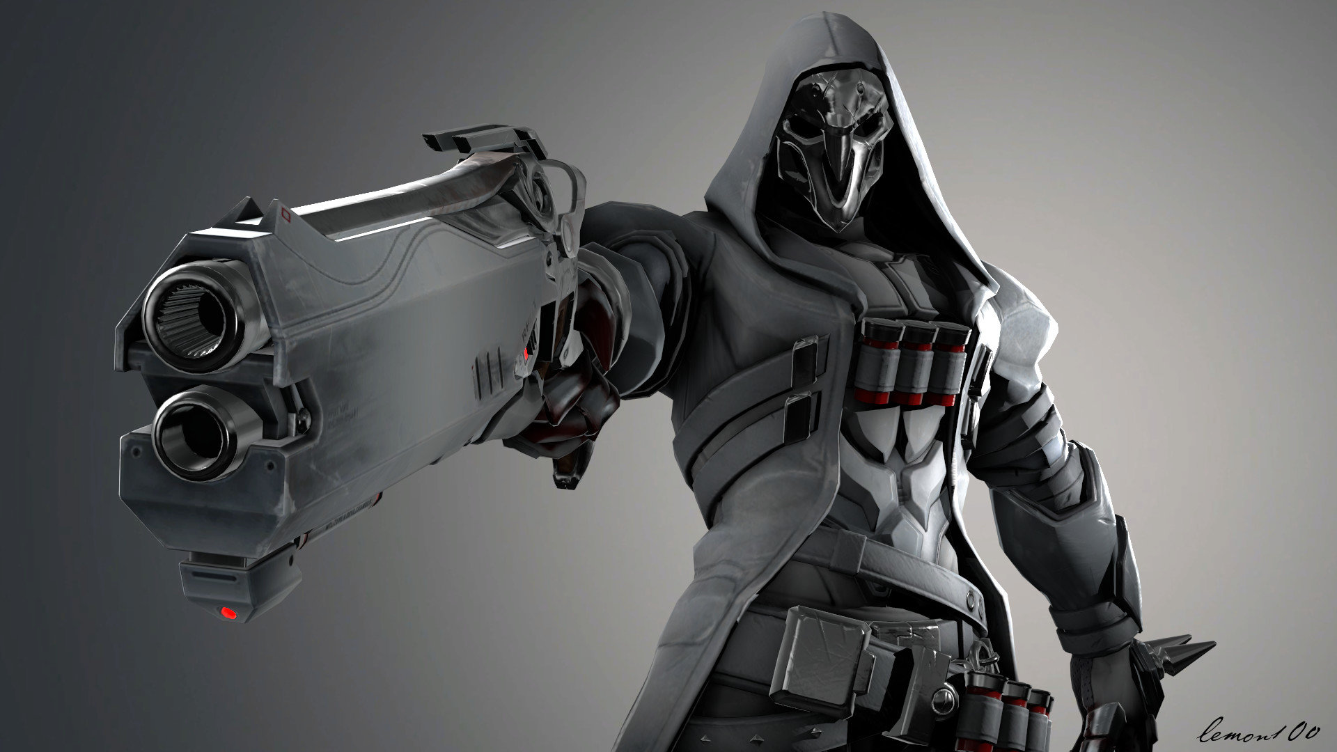Free Reaper Overwatch High Quality Wallpaper Id169716 For