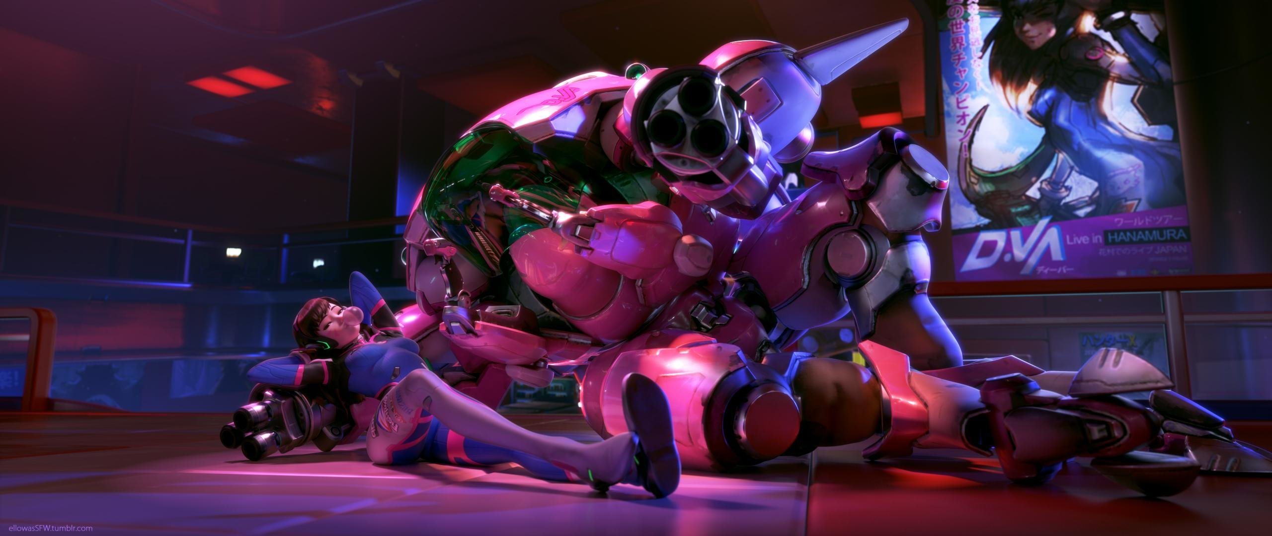 Free Dva Overwatch High Quality Wallpaper Id170292 For