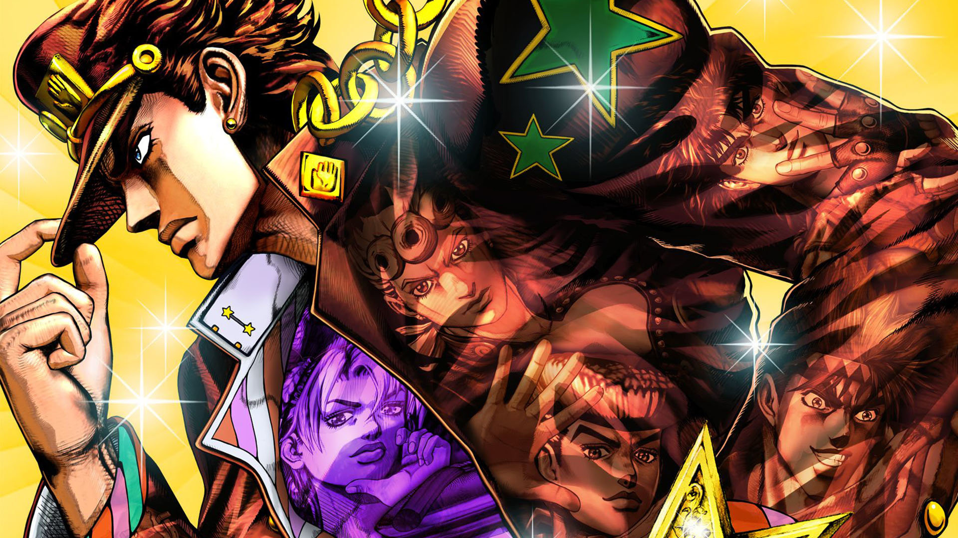 Download hd 1080p Jojo's Bizarre Adventure computer wallpaper ID:296953 for free